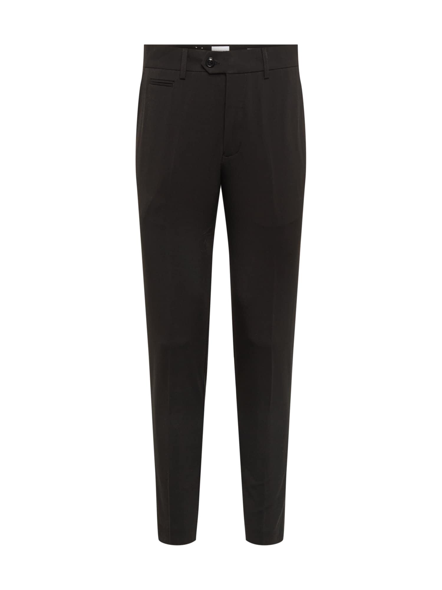 Lindbergh Pantalon à plis 'Club pants'  - Noir - Taille: XL - male