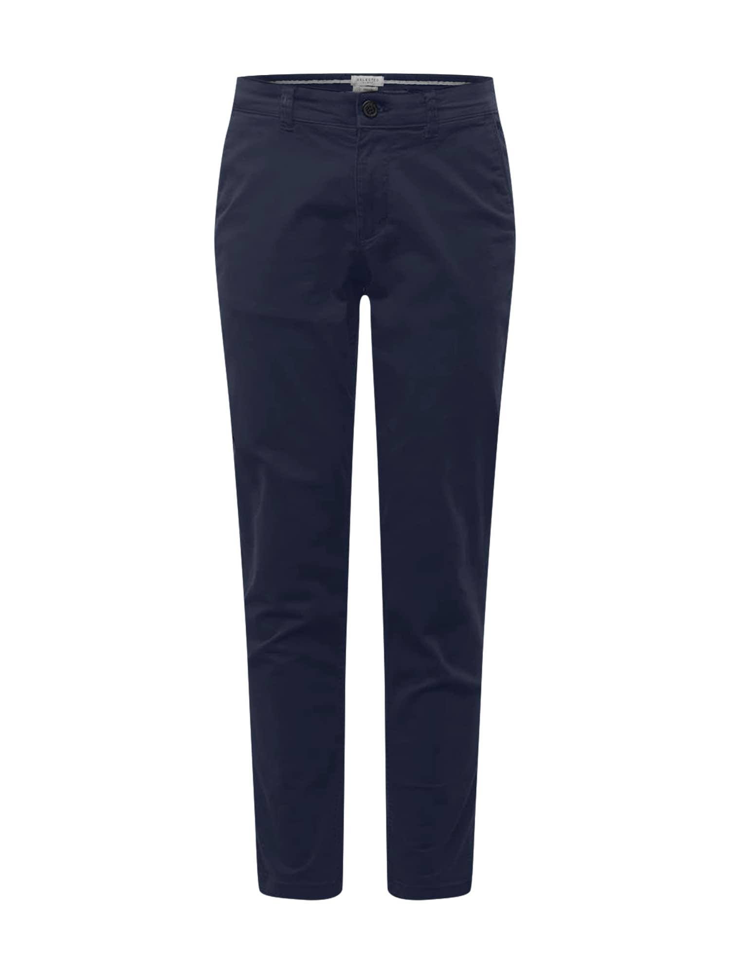 SELECTED HOMME Pantalon chino 'NEW PARIS'  - Bleu - Taille: 33 - male