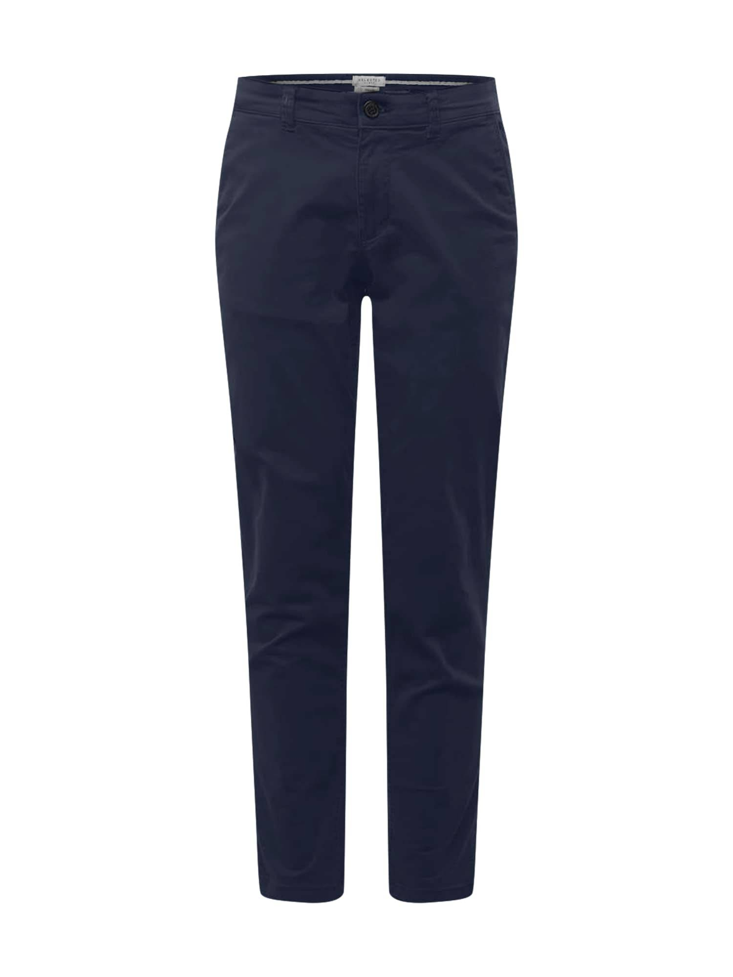 SELECTED HOMME Pantalon chino 'NEW PARIS'  - Bleu - Taille: 34 - male