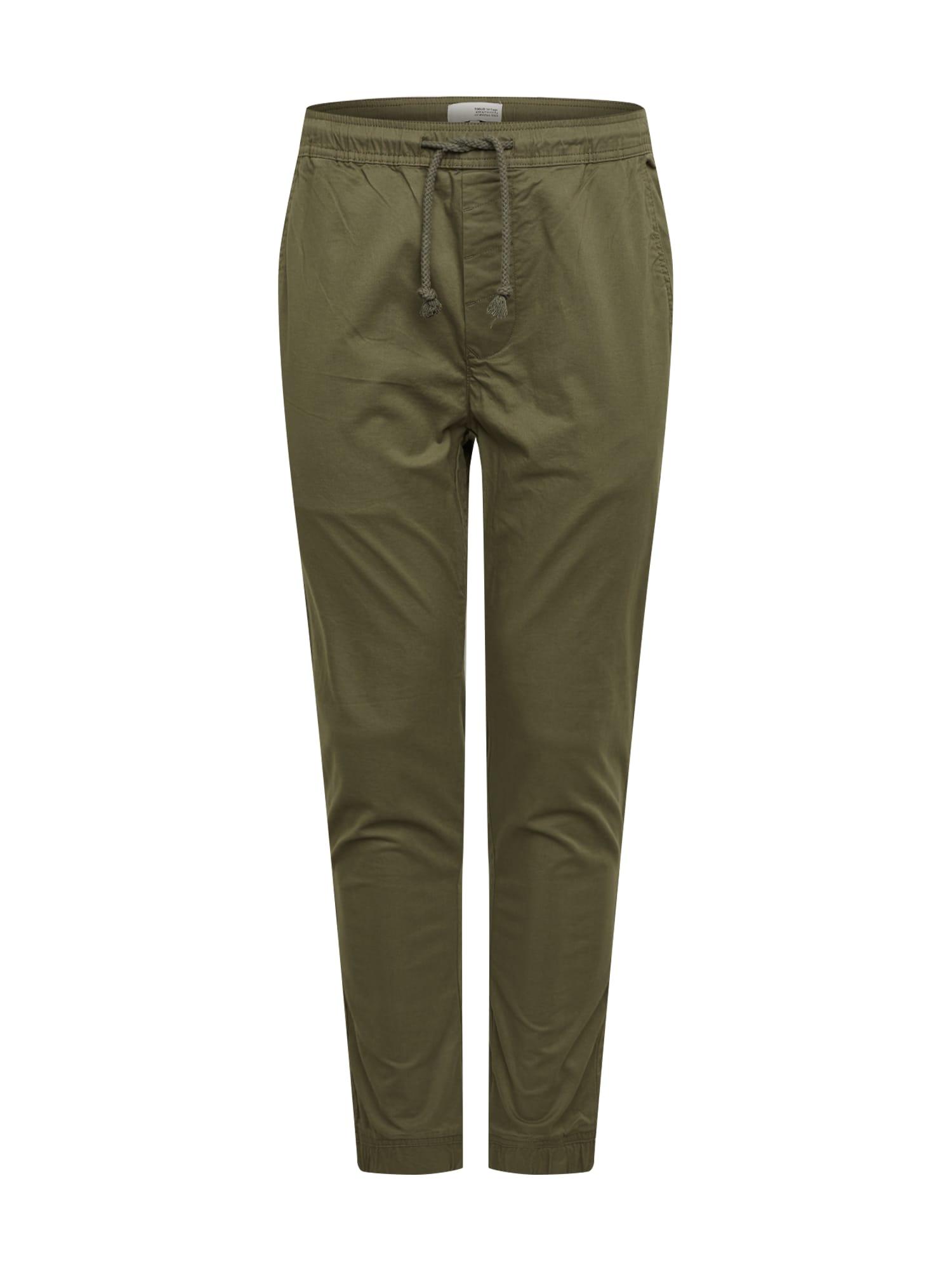 !Solid Pantalon 'Slim-Truc Cuff'  - Vert - Taille: S - male