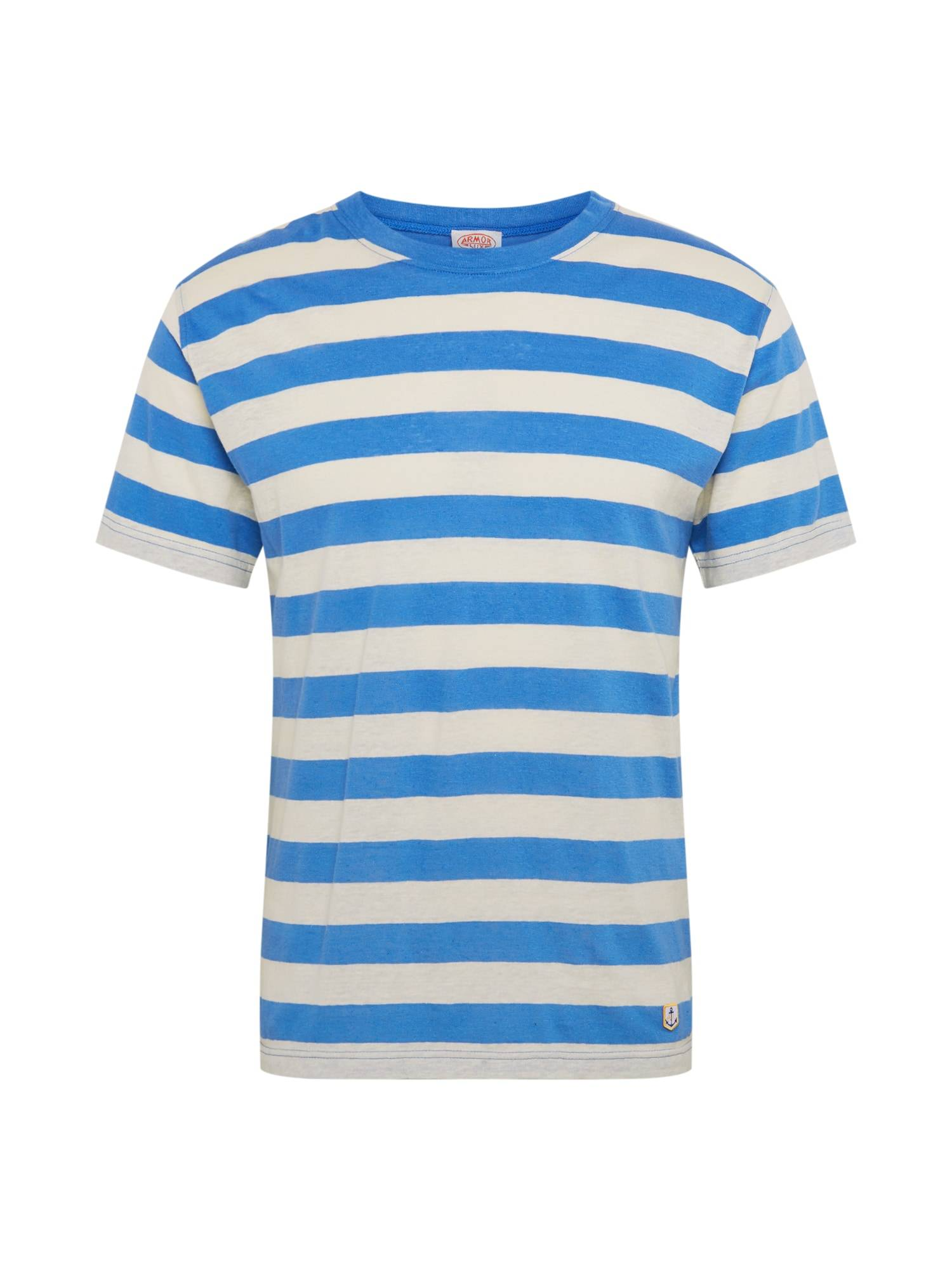Armor Lux T-Shirt 'Tshirt MC Rayé Héritage'  - Bleu - Taille: S - male