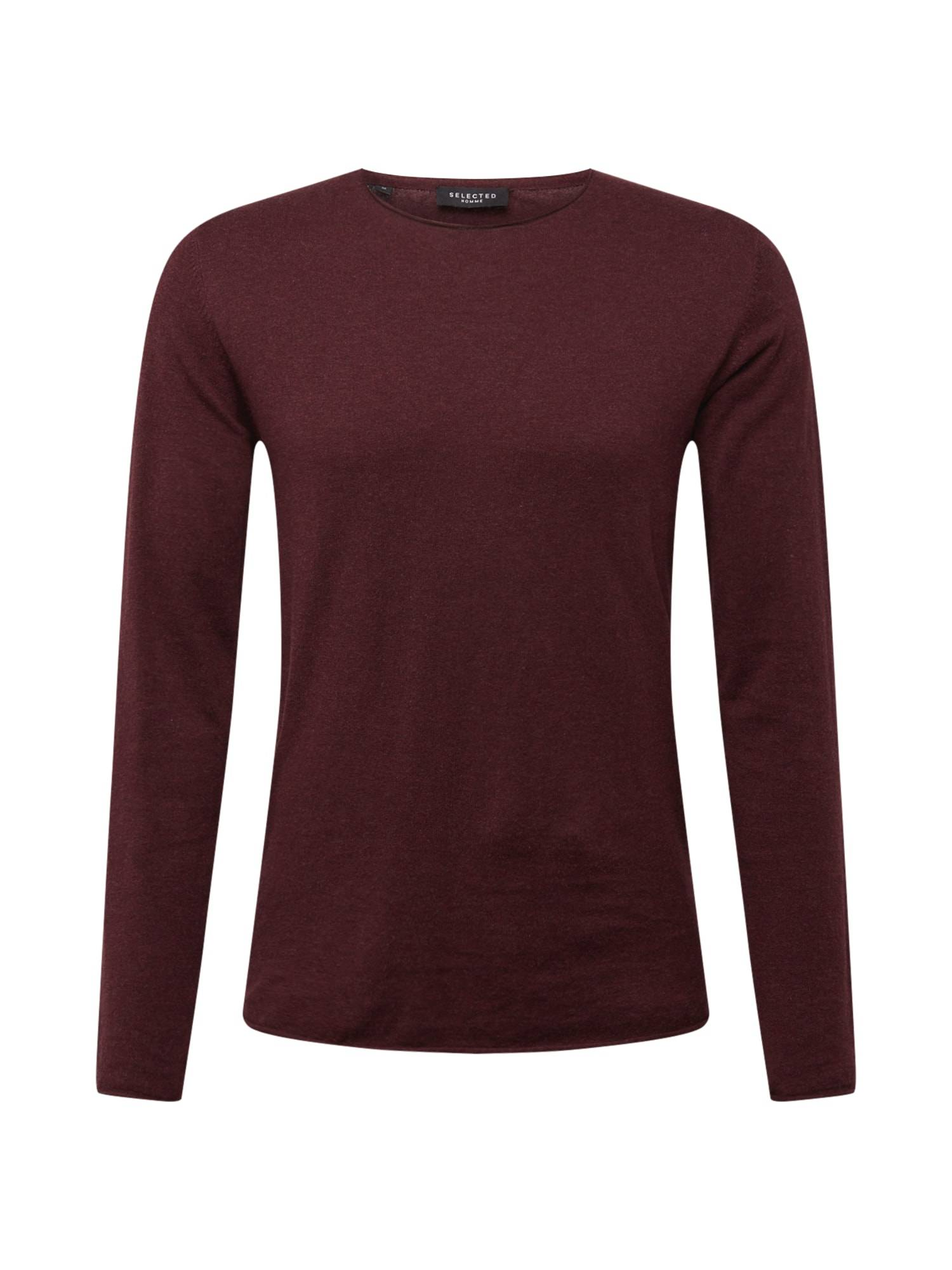 SELECTED HOMME Pull-over  - Rouge - Taille: M - male