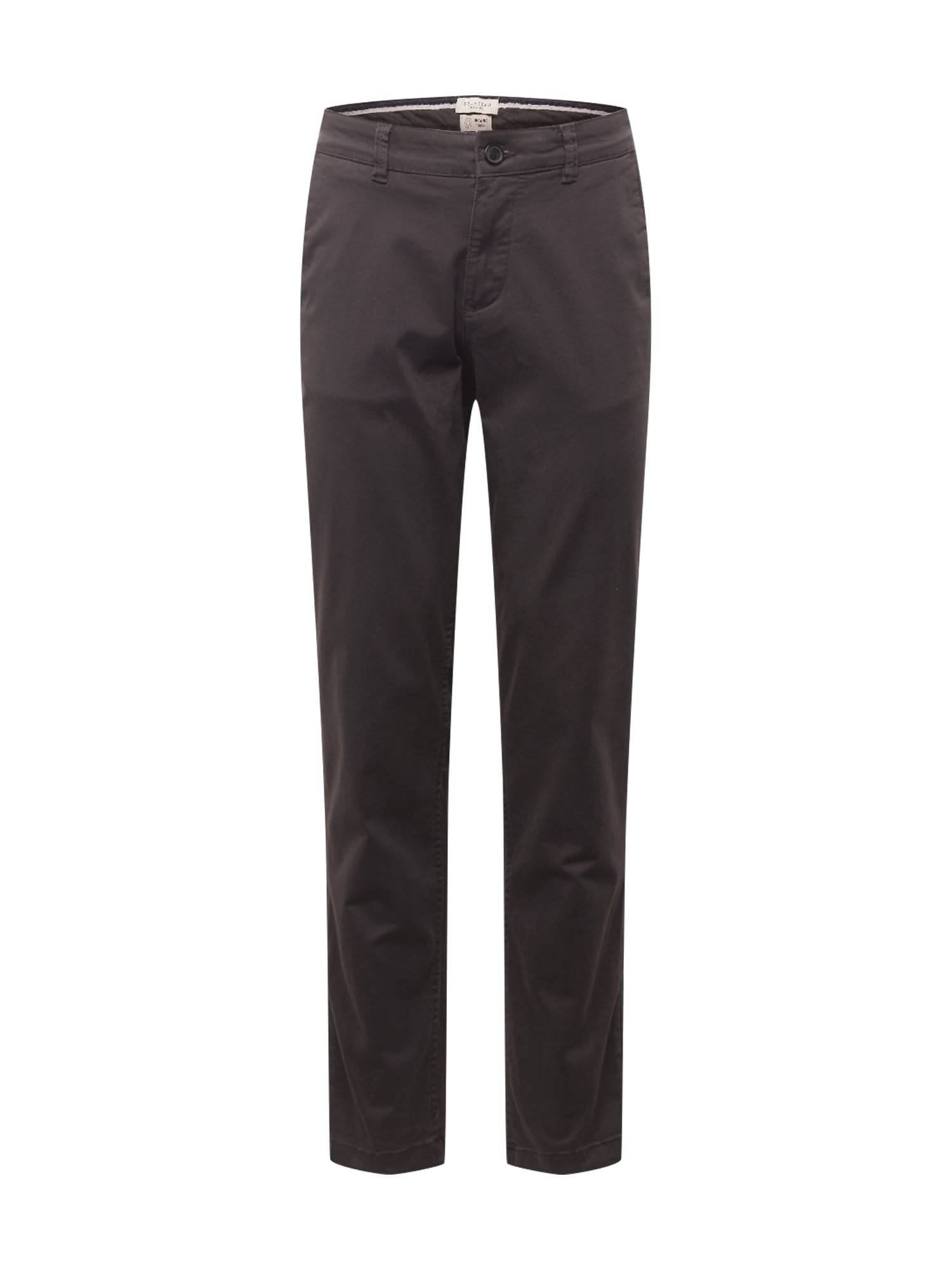SELECTED HOMME Pantalon chino 'NEW PARIS'  - Gris - Taille: 28 - male
