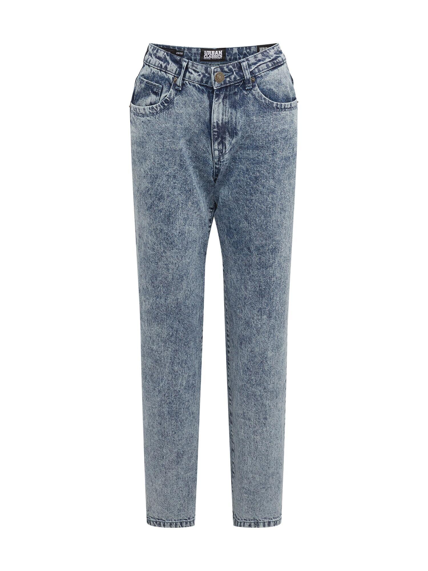 Urban Classics Jean  - Bleu - Taille: 28 - male