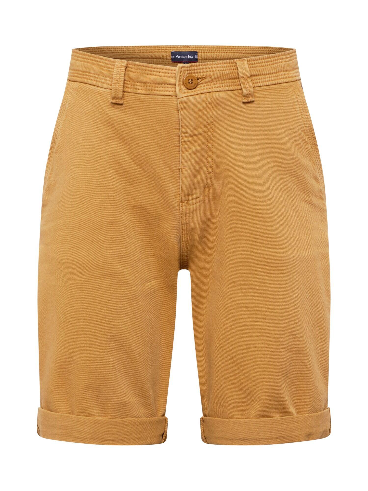 Armor Lux Pantalon 'Caboteur'  - Jaune - Taille: 38 - male