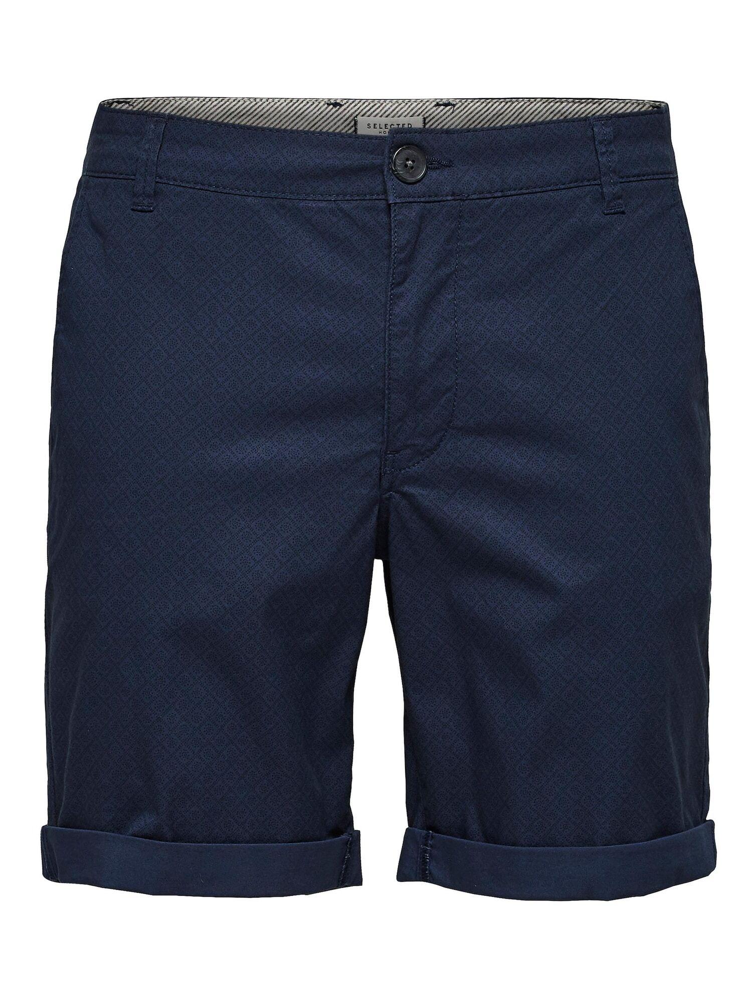 SELECTED HOMME Pantalon chino 'Paris'  - Bleu - Taille: XL - male