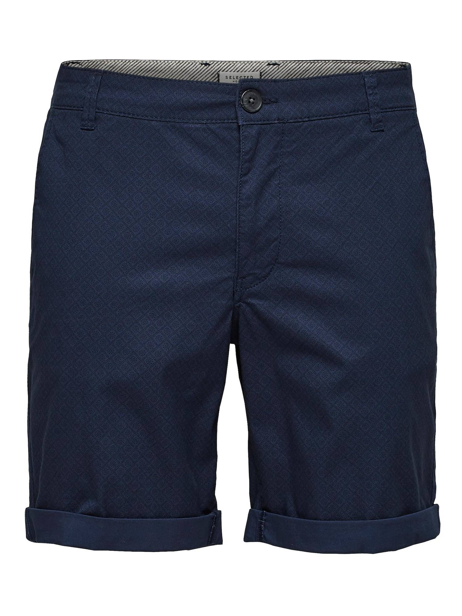 SELECTED HOMME Pantalon chino 'Paris'  - Bleu - Taille: S - male