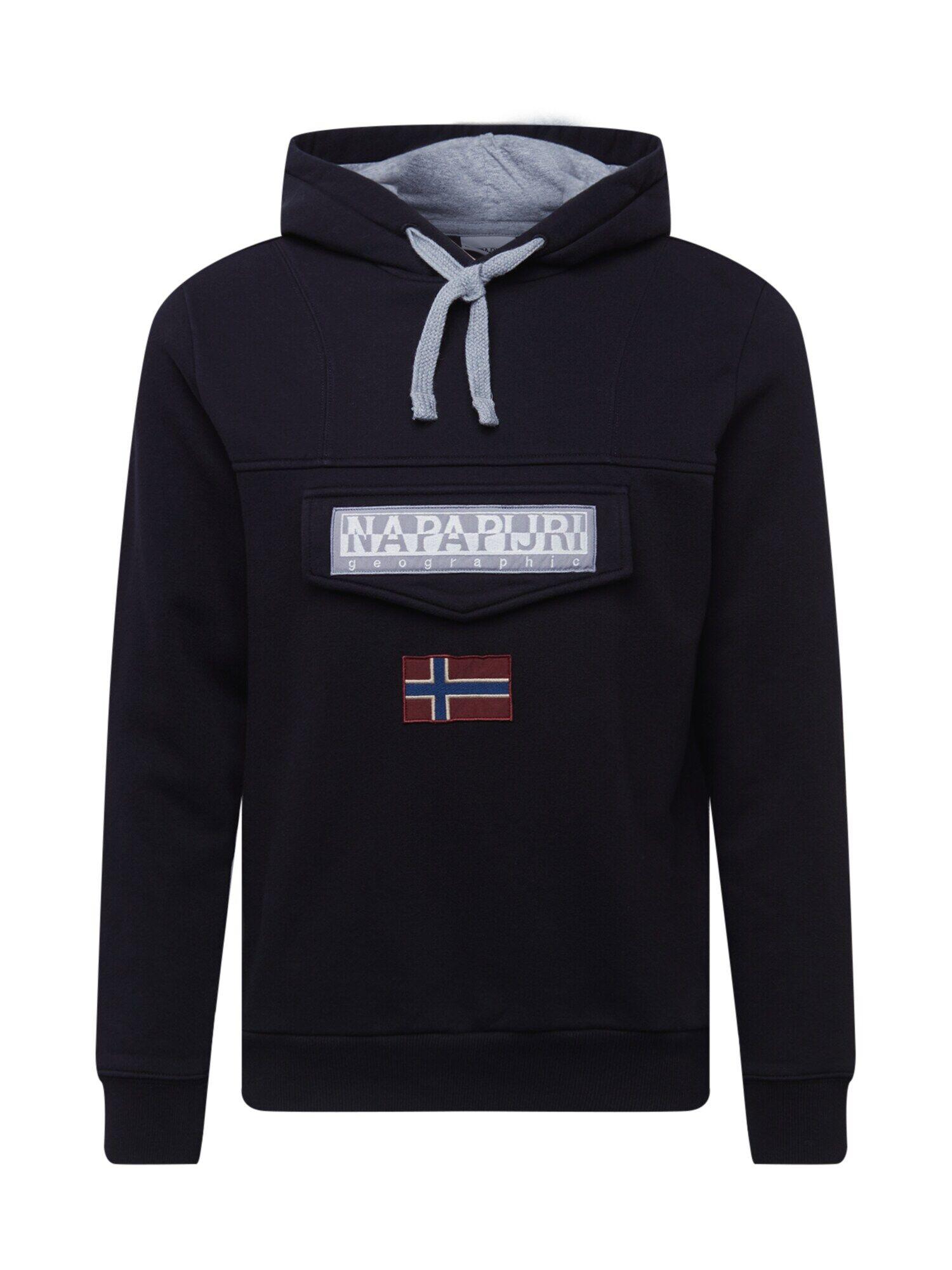 NAPAPIJRI Sweat-shirt 'Burgee'  - Noir - Taille: XXL - male