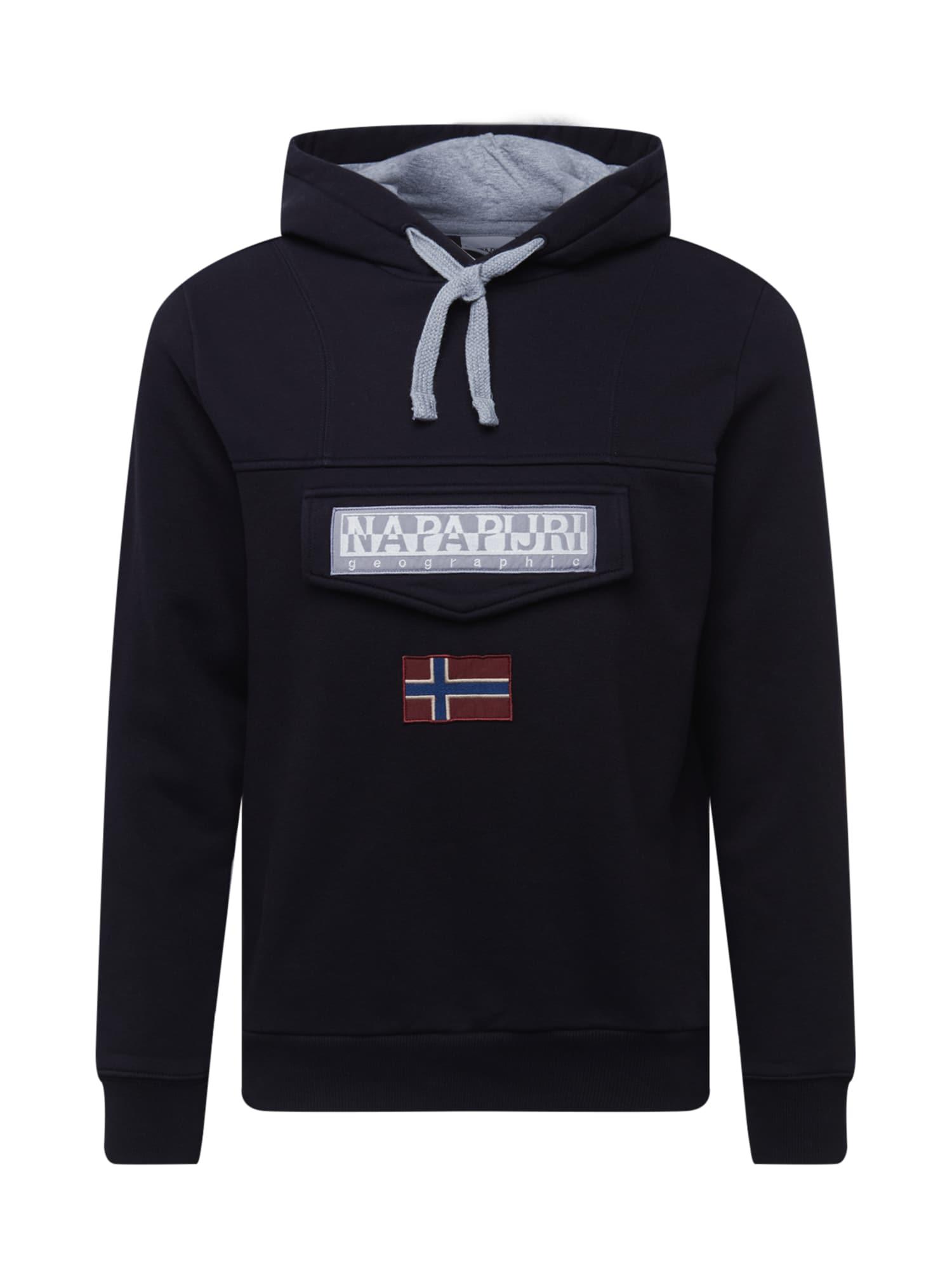 NAPAPIJRI Sweat-shirt 'Burgee'  - Noir - Taille: M - male