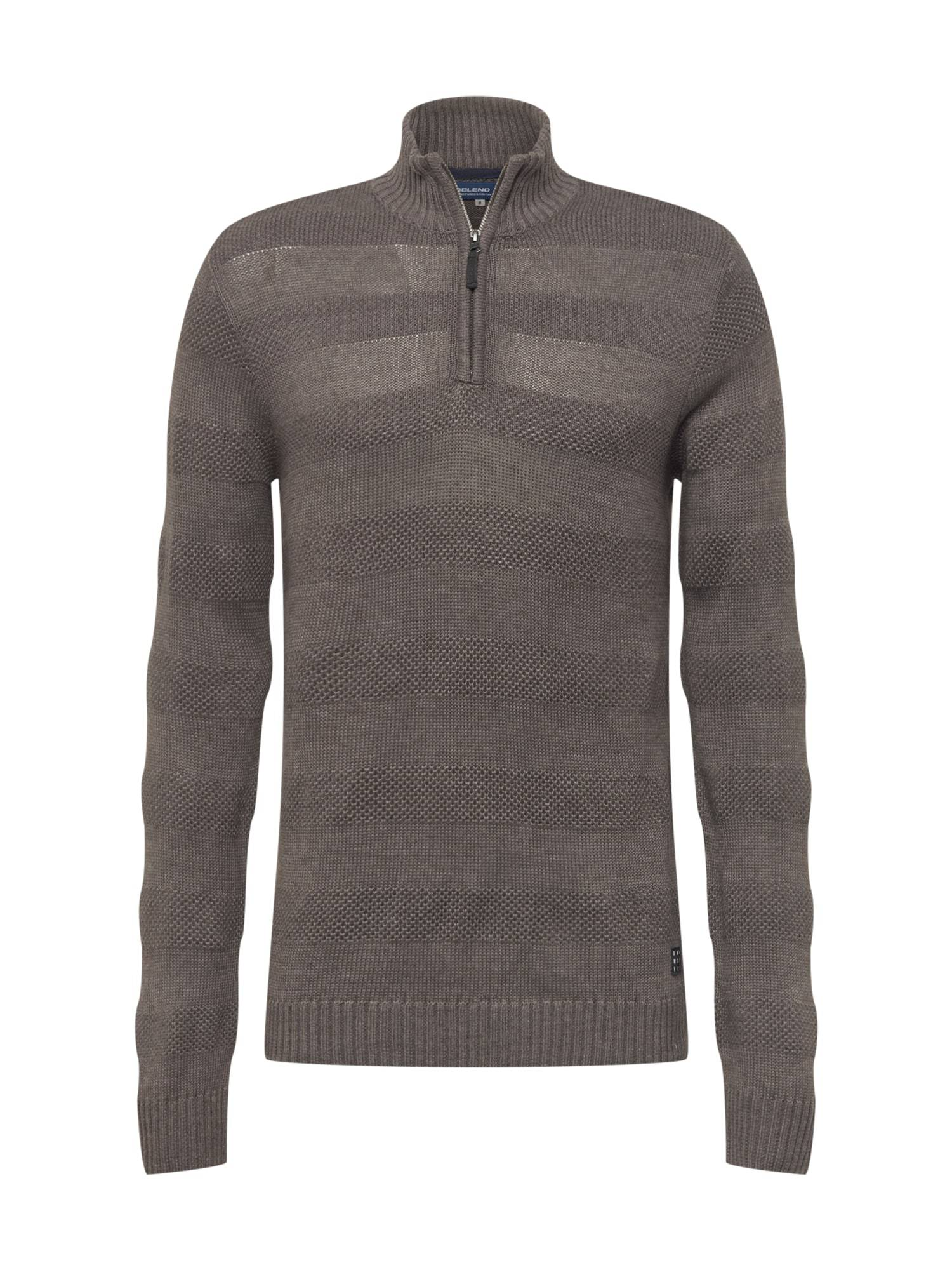 BLEND Pull-over 'Nantes'  - Gris - Taille: XXL - male
