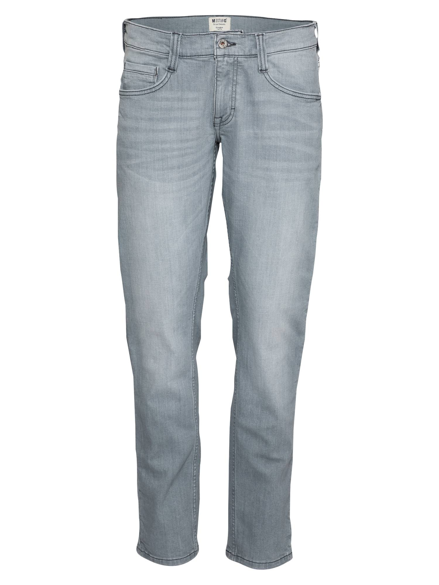 MUSTANG Jean 'Oregon'  - Gris - Taille: 35/32 - male