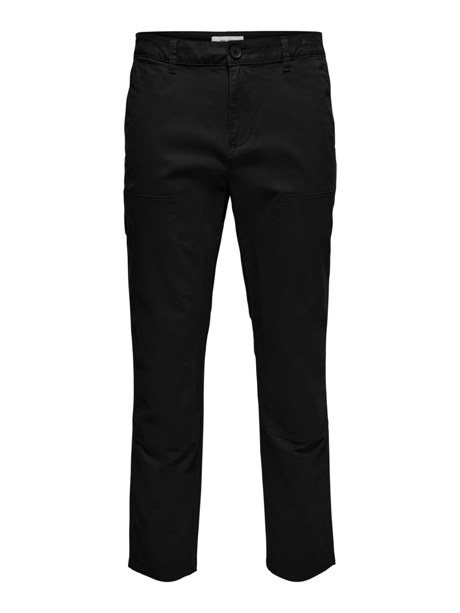 Only & Sons Pantalon 'Cam'  - Noir - Taille: 29 - male