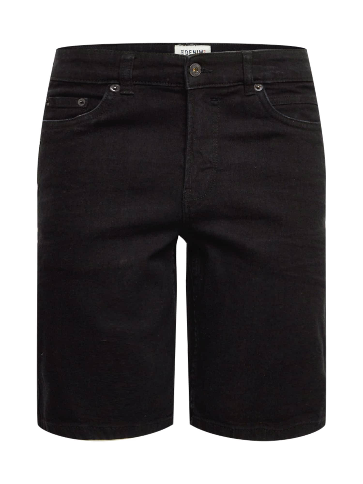 !Solid Jean 'Ryder'  - Noir - Taille: S - male