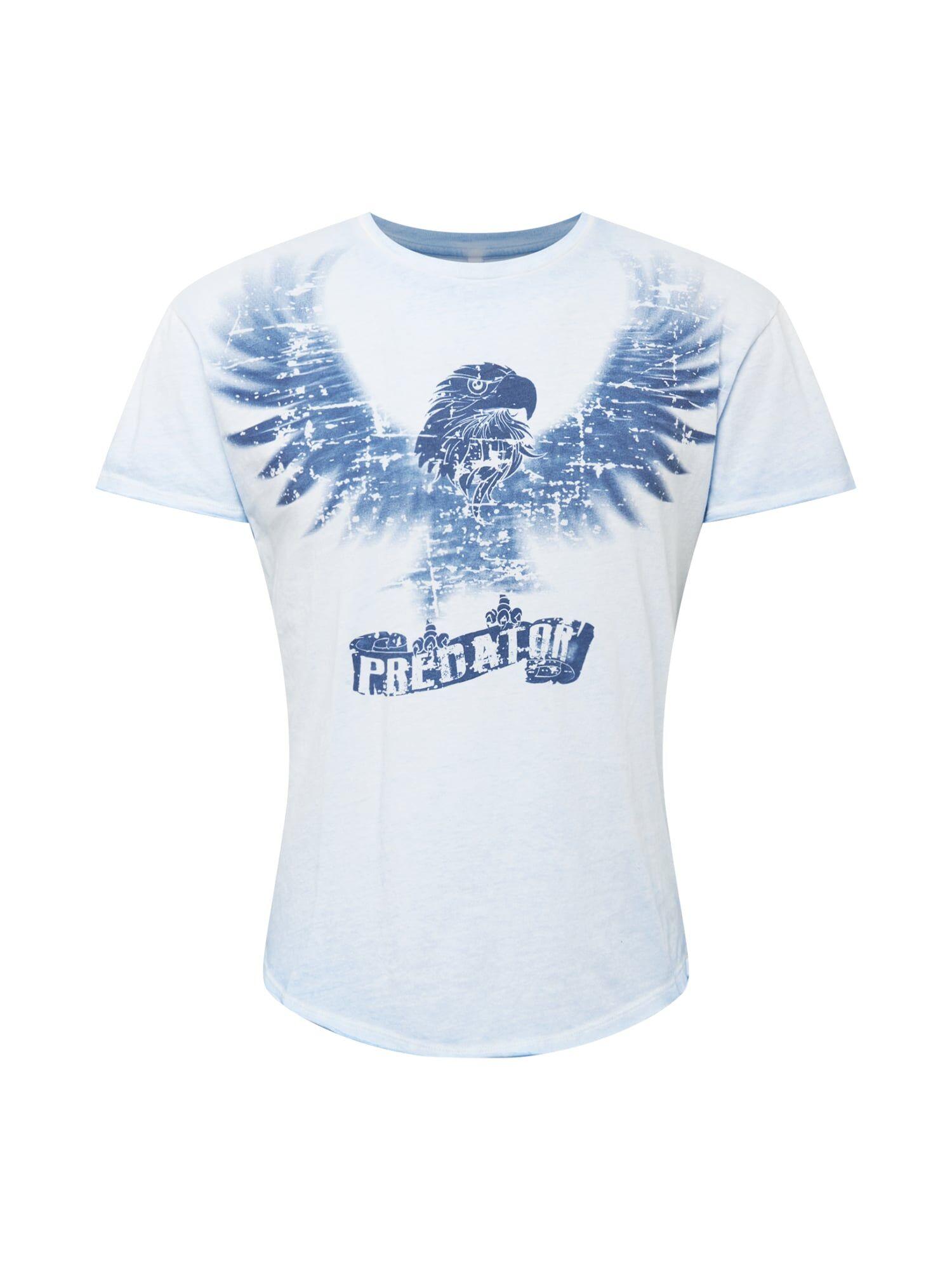Key Largo T-Shirt 'PREDATOR'  - Bleu - Taille: XXL - male