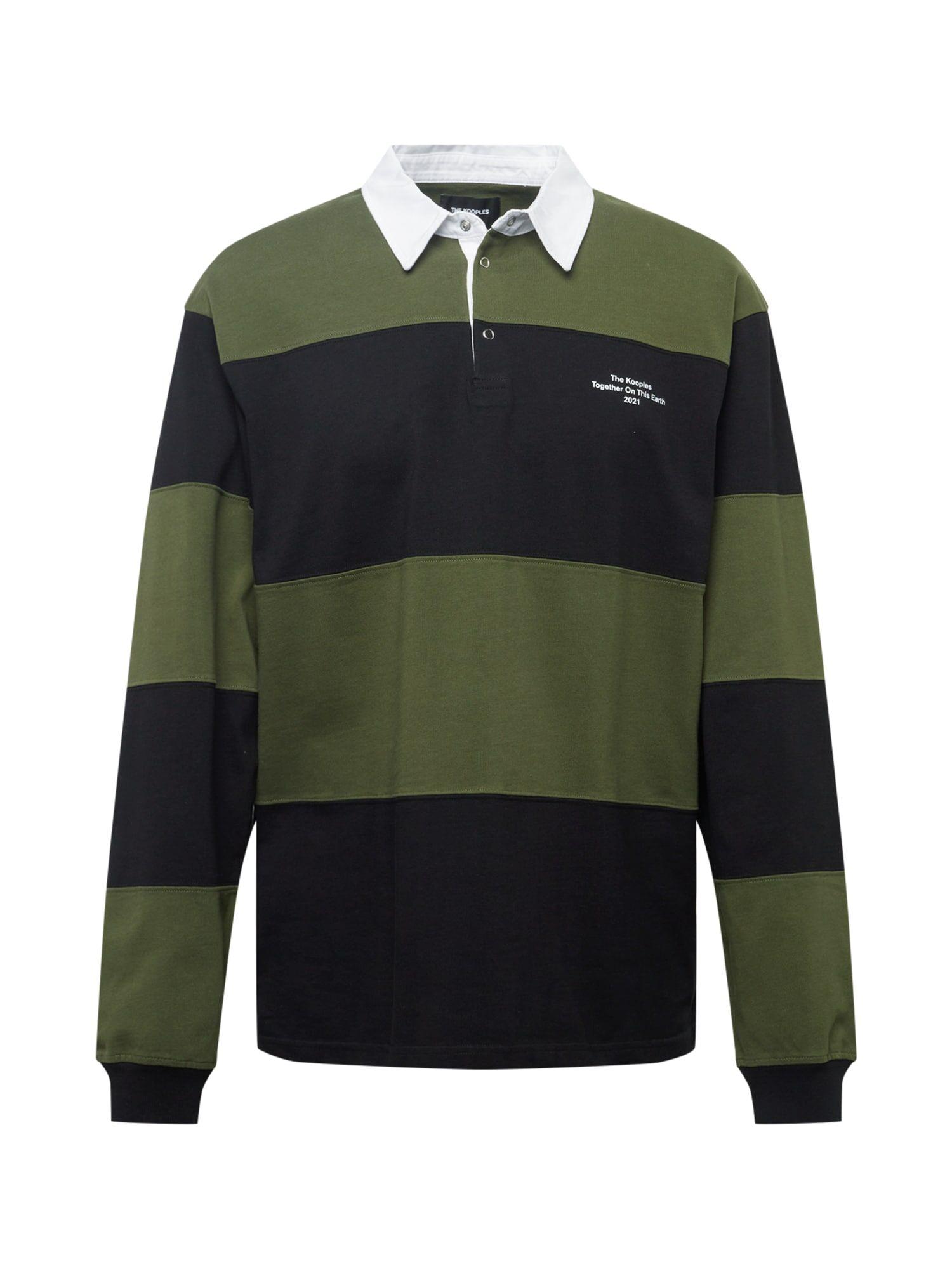 The Kooples T-Shirt  - Noir, Vert - Taille: L - male