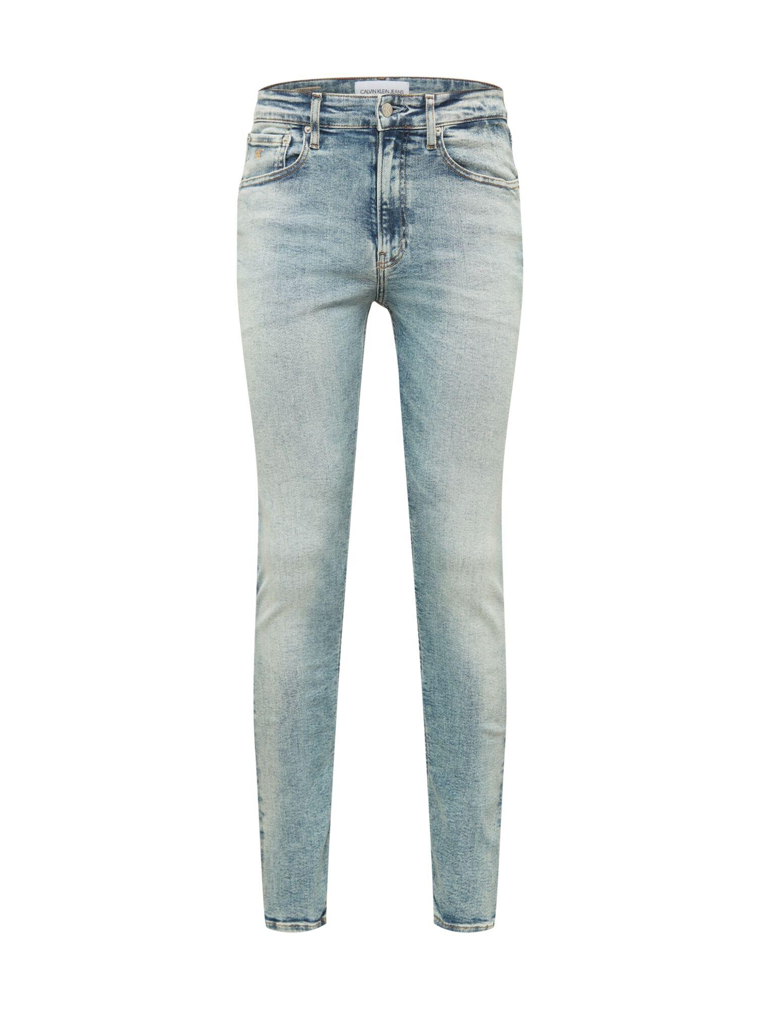 Calvin Jean  - Bleu - Taille: 33 - male