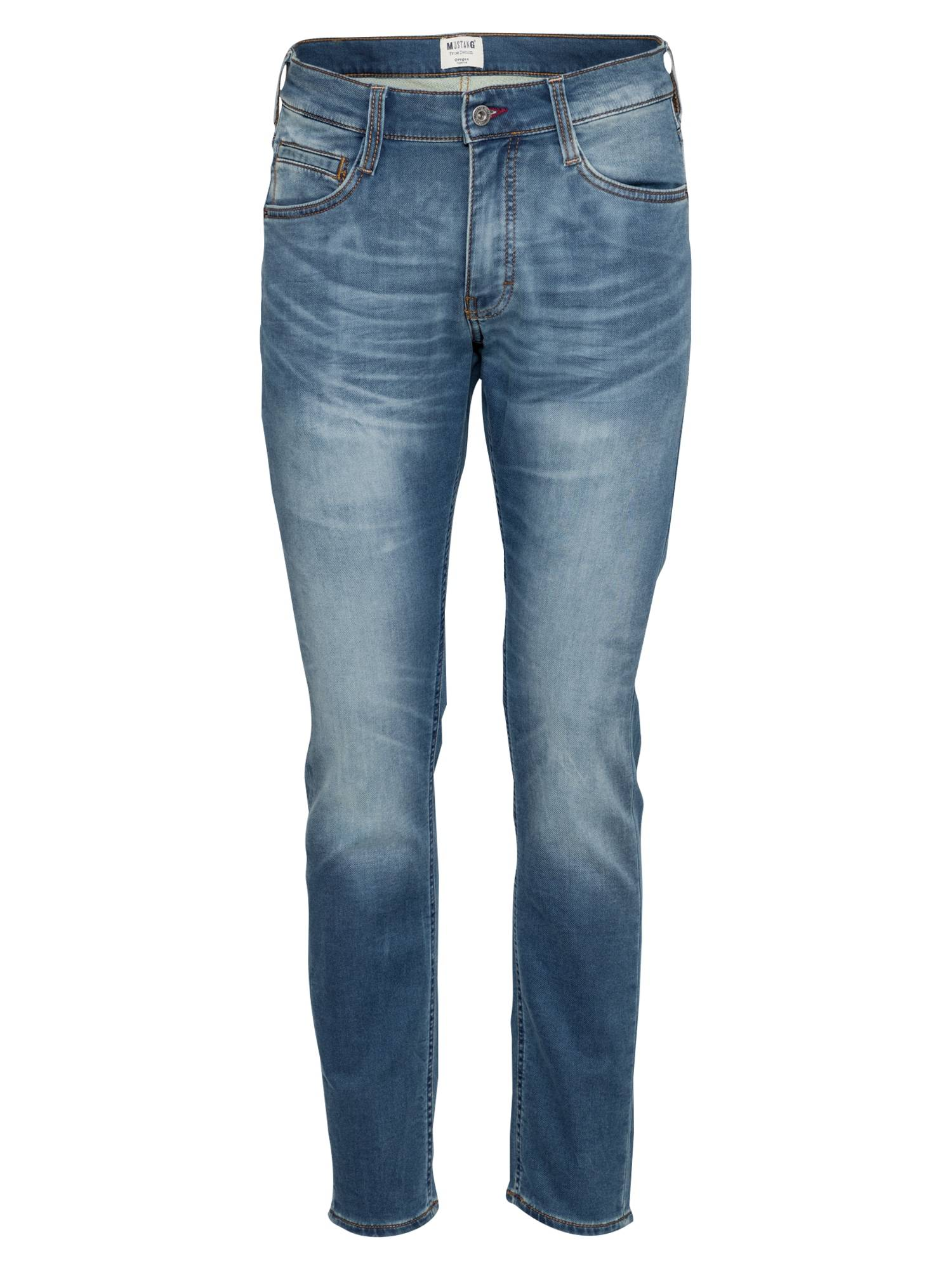 MUSTANG Jean 'Oregon Tapered K'  - Bleu - Taille: 35 - male