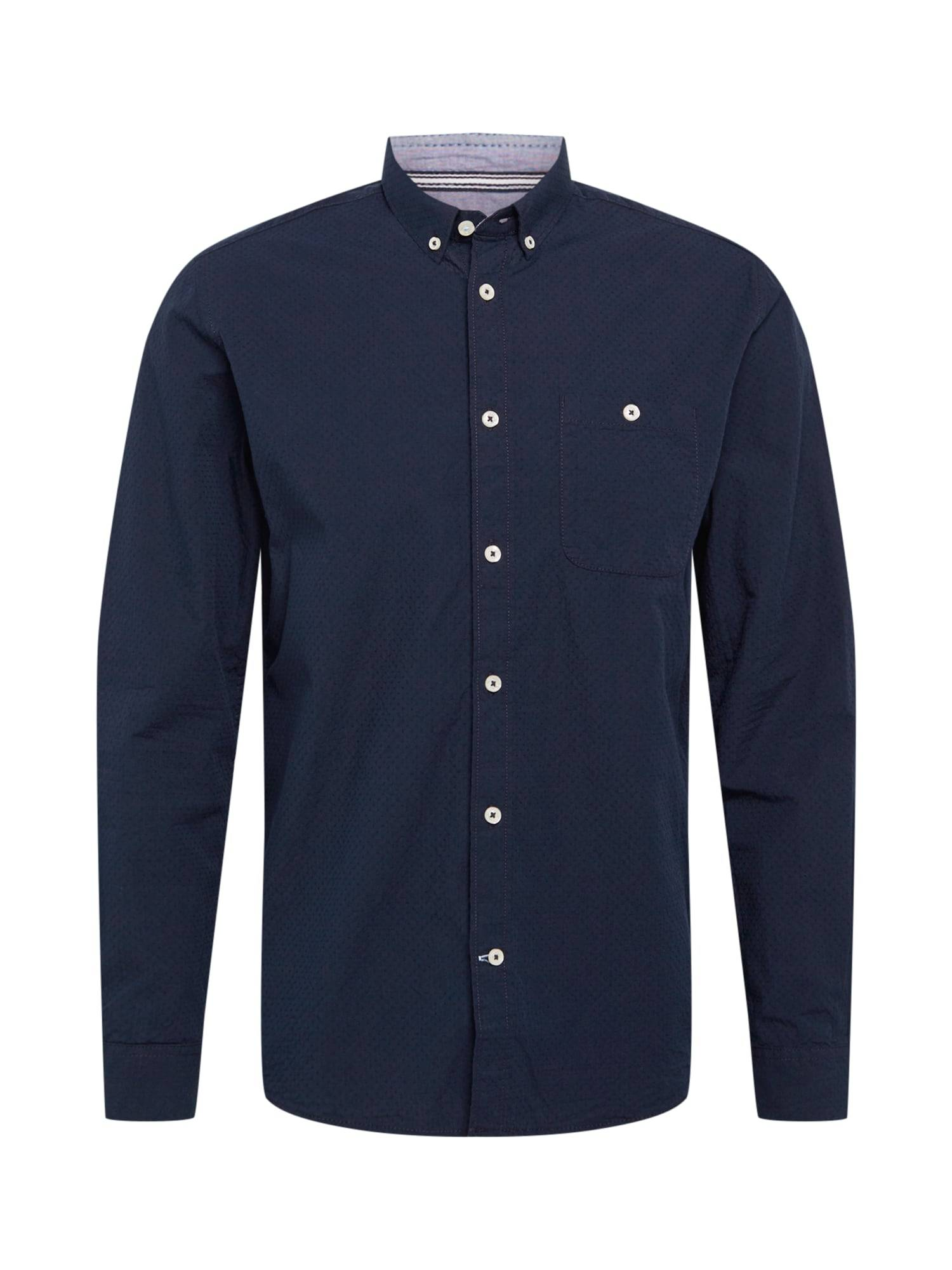 TOM TAILOR Chemise  - Bleu - Taille: S - male