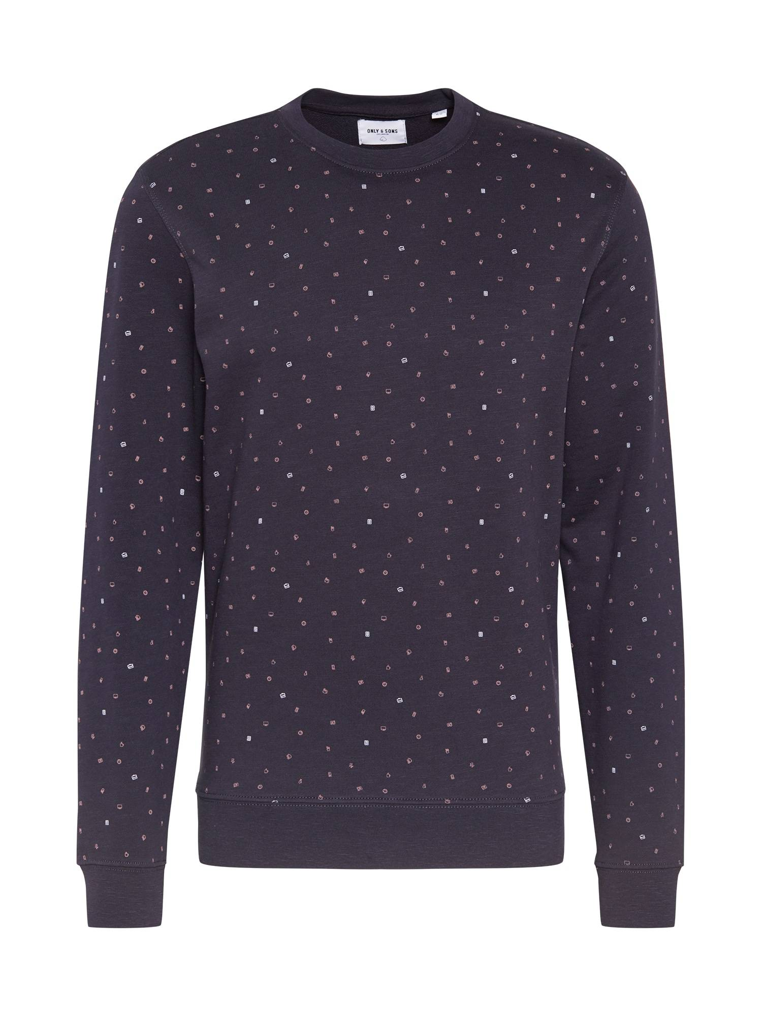 Only & Sons Sweat-shirt  - Bleu - Taille: XL - male