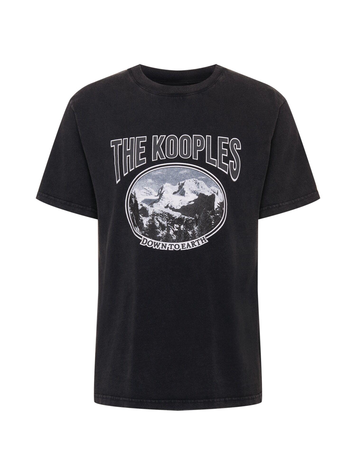 The Kooples T-Shirt  - Noir - Taille: S - male