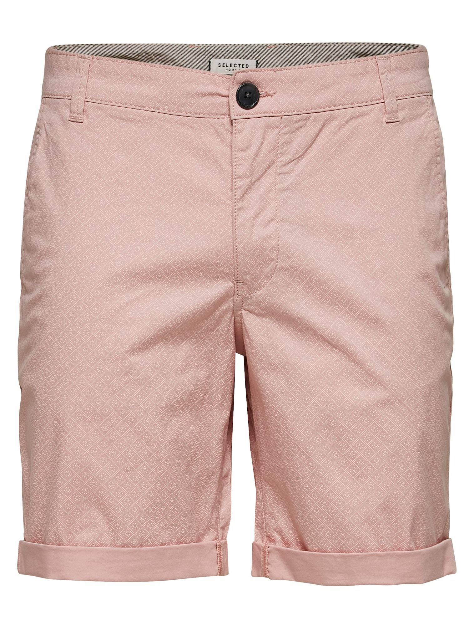 SELECTED HOMME Pantalon chino 'Paris'  - Rose - Taille: L - male