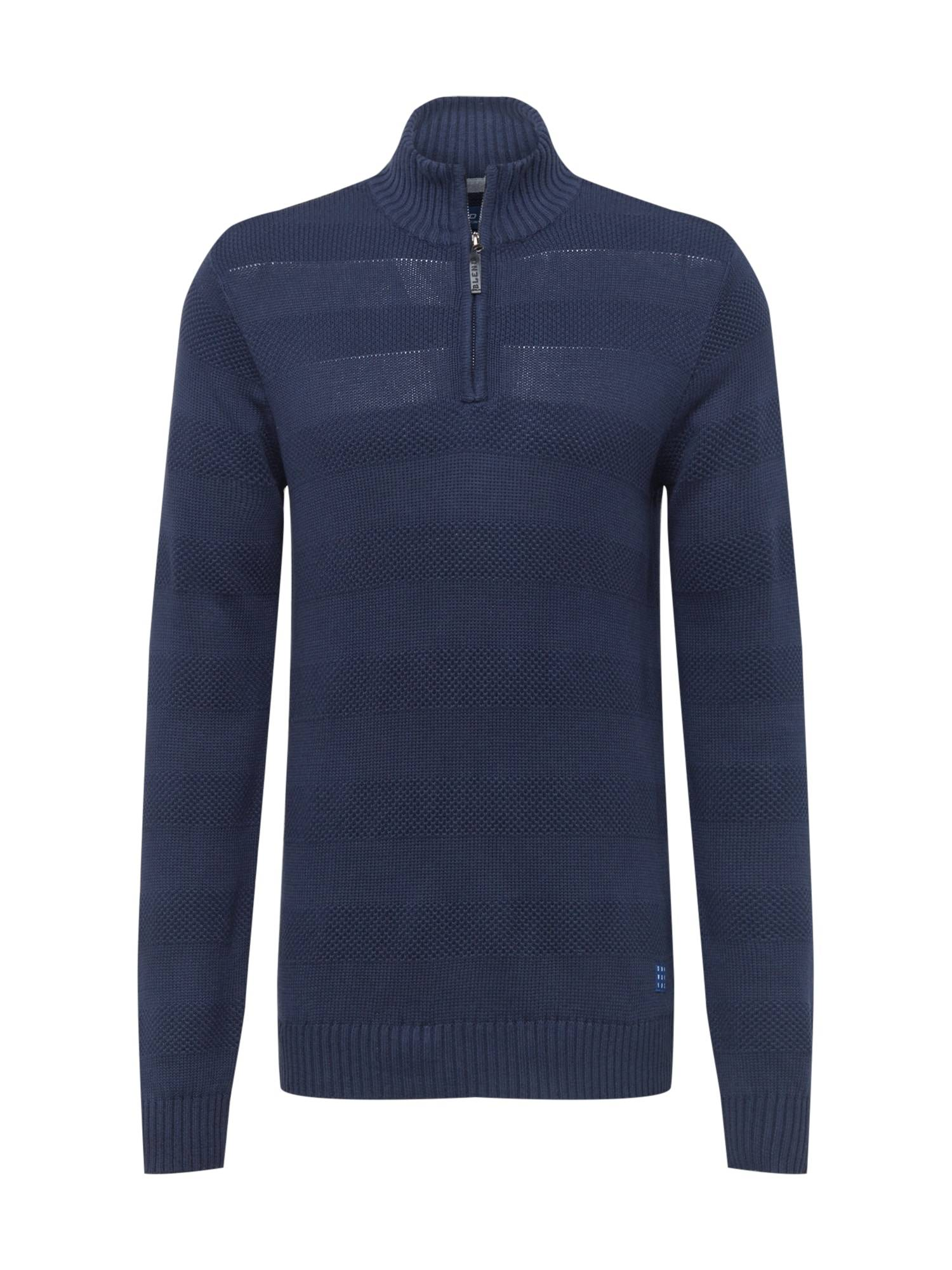BLEND Pull-over 'Nantes'  - Bleu - Taille: L - male