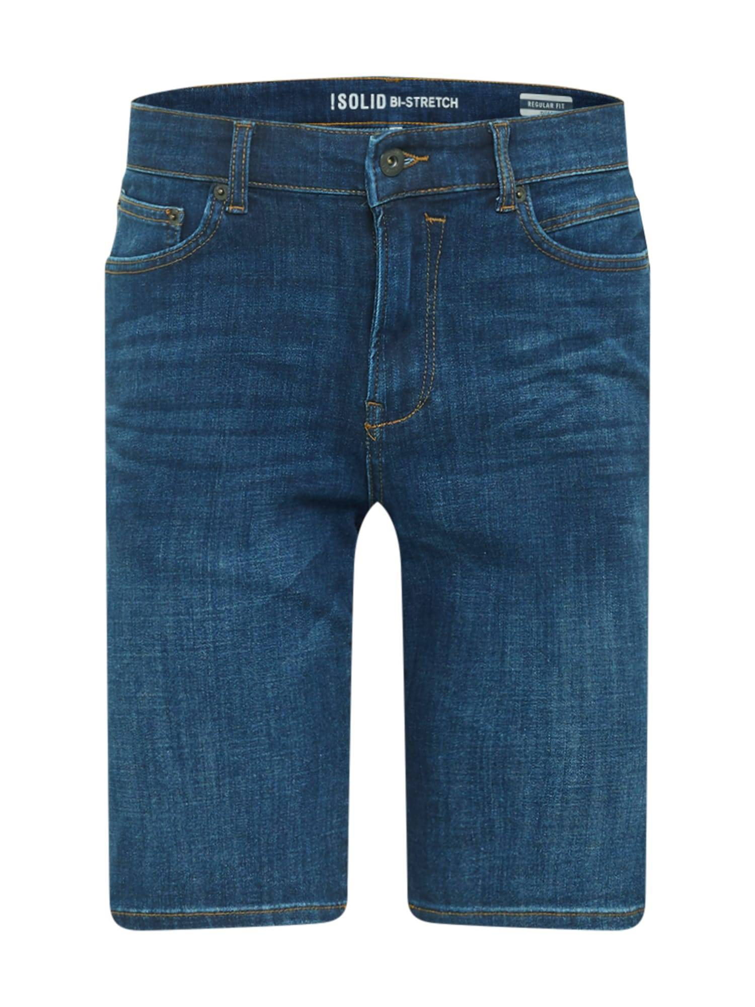 !Solid Jean 'Ryder'  - Bleu - Taille: S - male