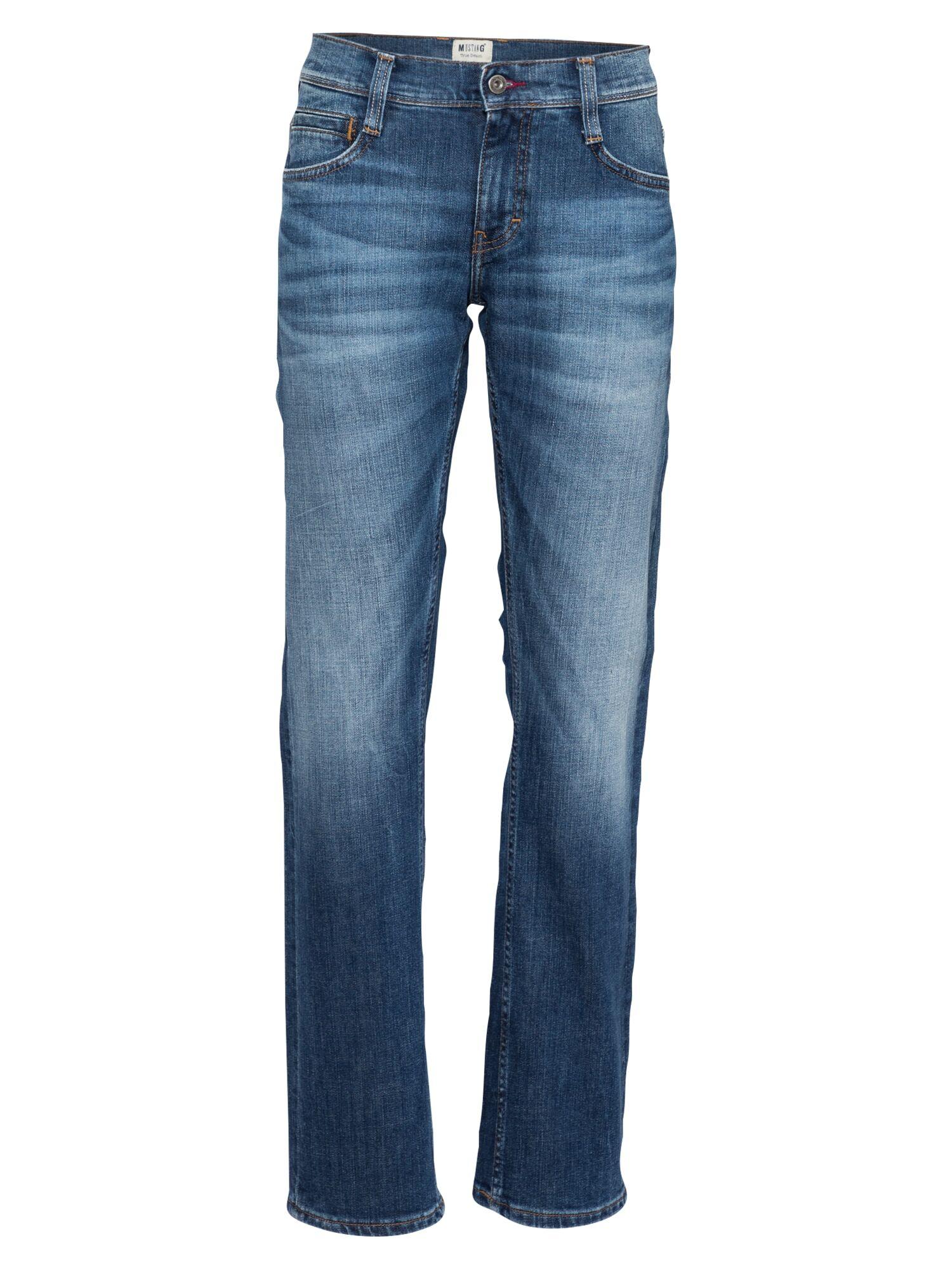 MUSTANG Jean 'Oregon '  - Bleu - Taille: 36/30 - male