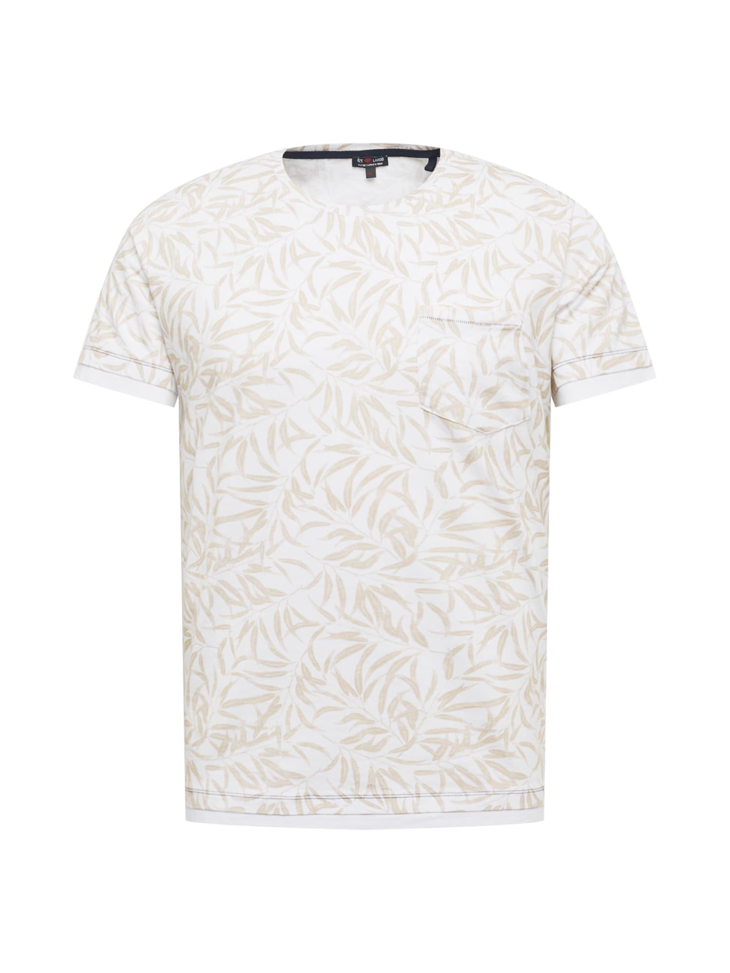 Key Largo T-Shirt 'LOCATION'  - Blanc - Taille: L - male