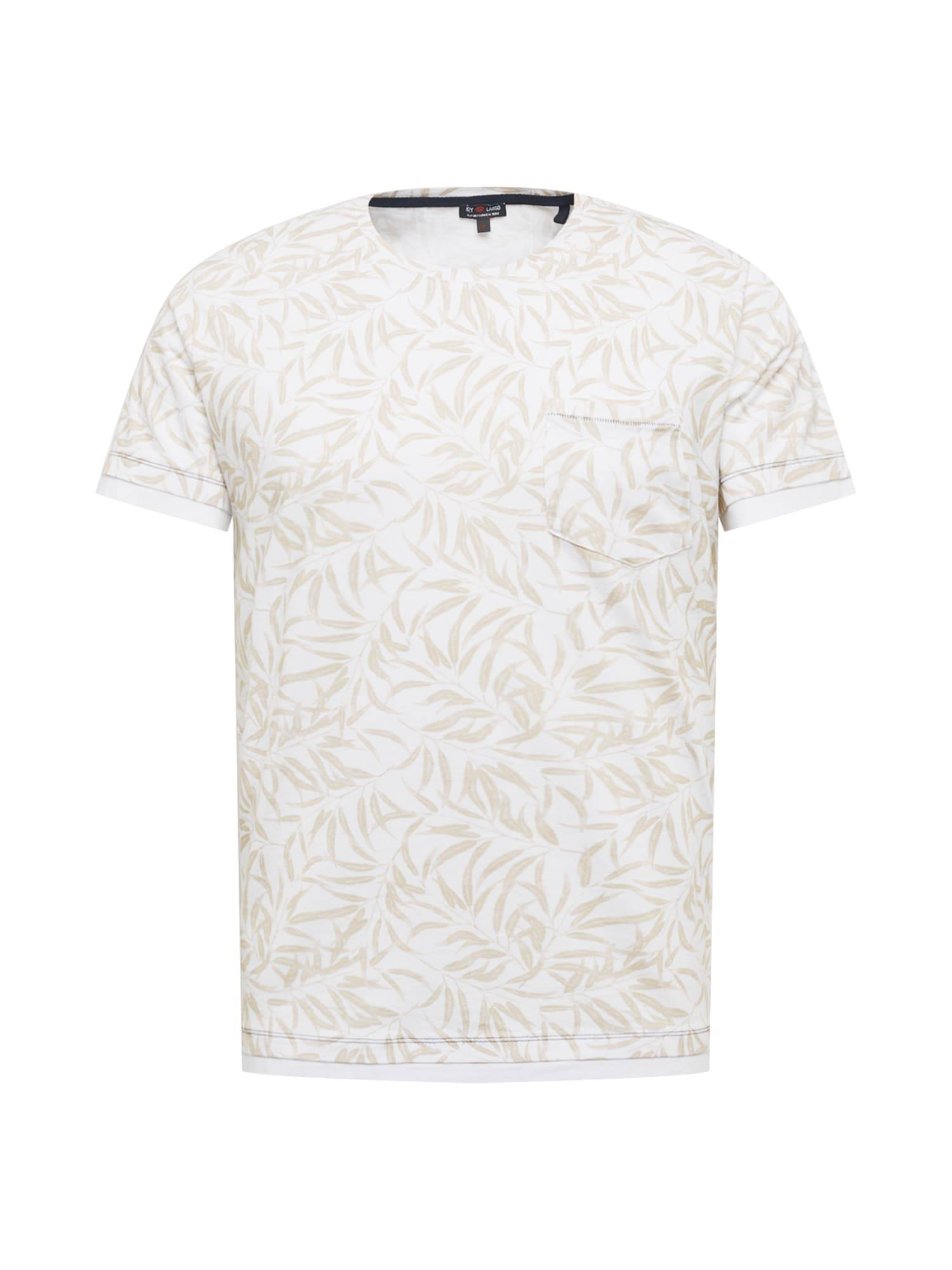 Key Largo T-Shirt 'LOCATION'  - Blanc - Taille: XXL - male