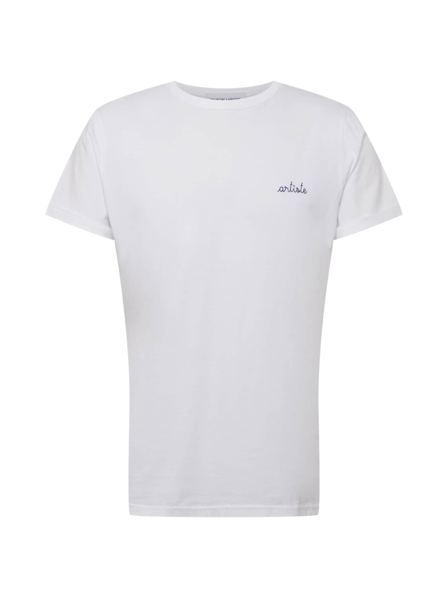Maison Labiche T-Shirt 'POITOU ARTISTE'  - Blanc - Taille: M - male
