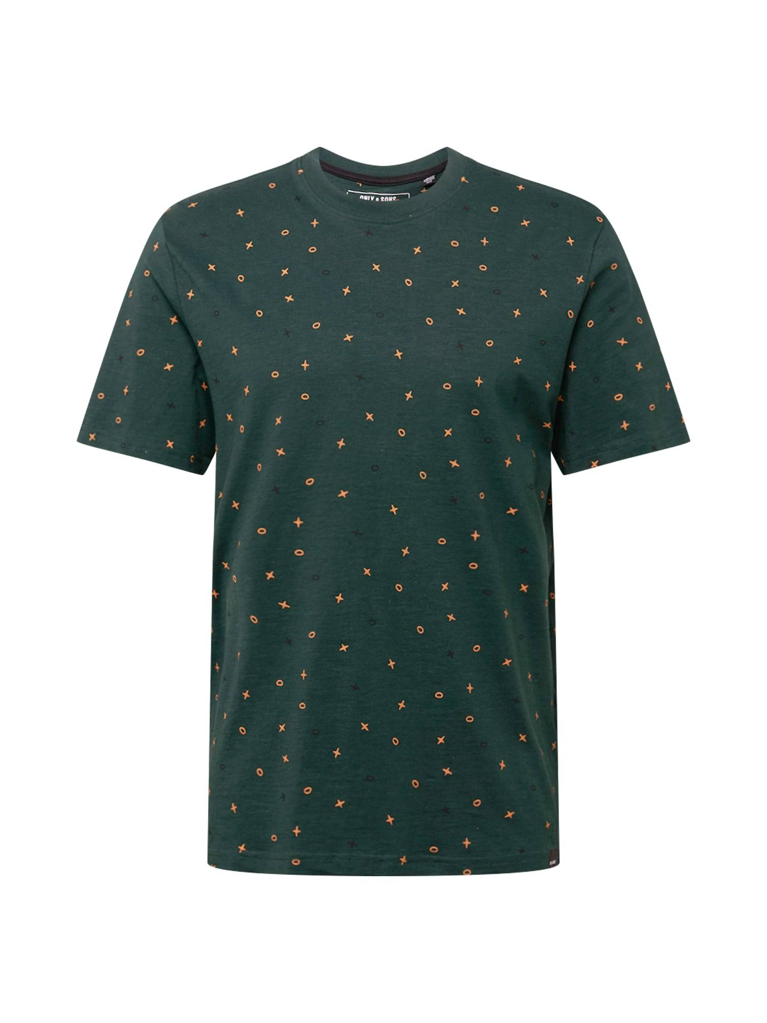 Only & Sons T-Shirt  - Vert - Taille: XS - male