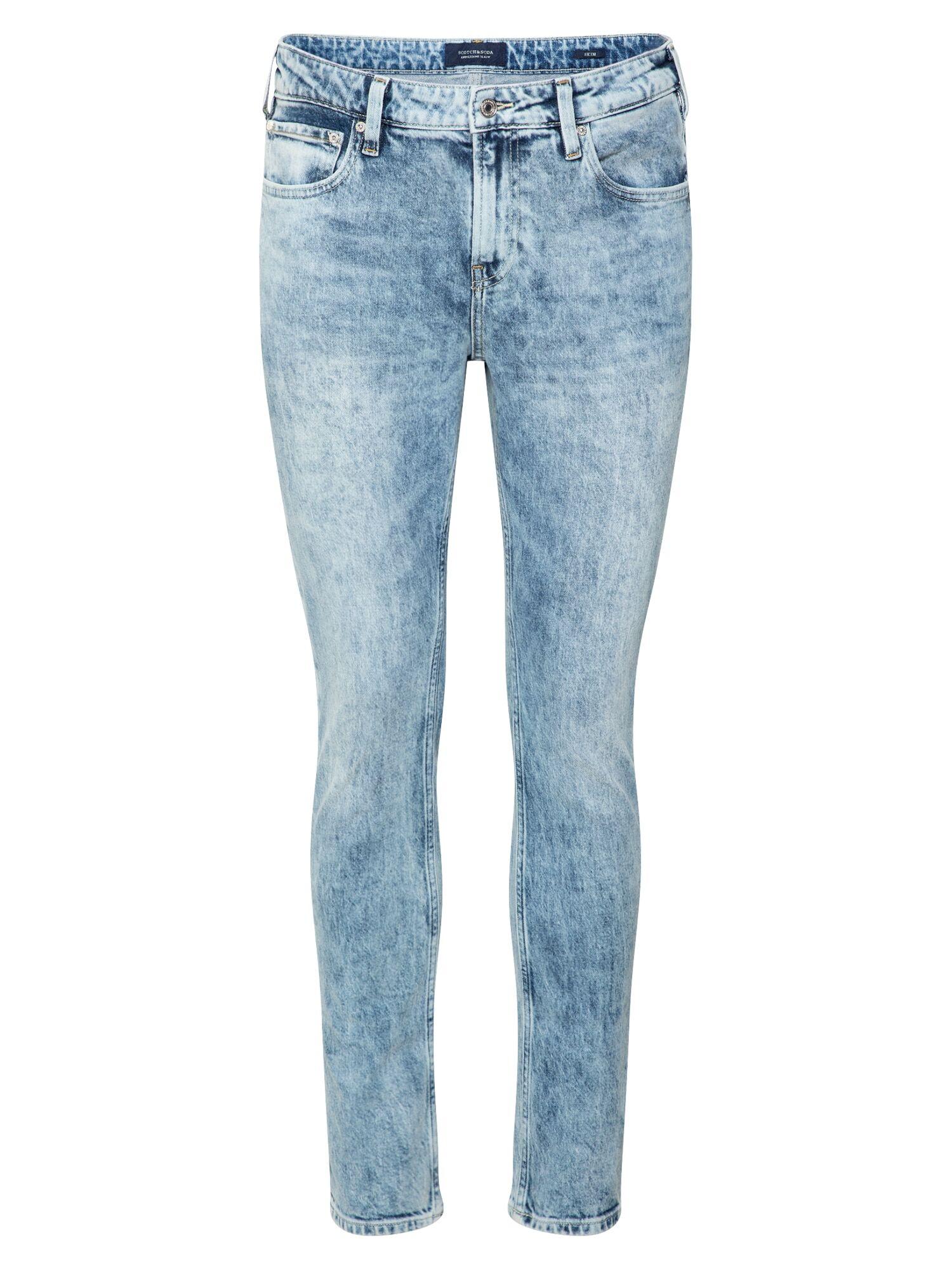 SCOTCH & SODA Jean 'Timeworn'  - Bleu - Taille: 33 - male