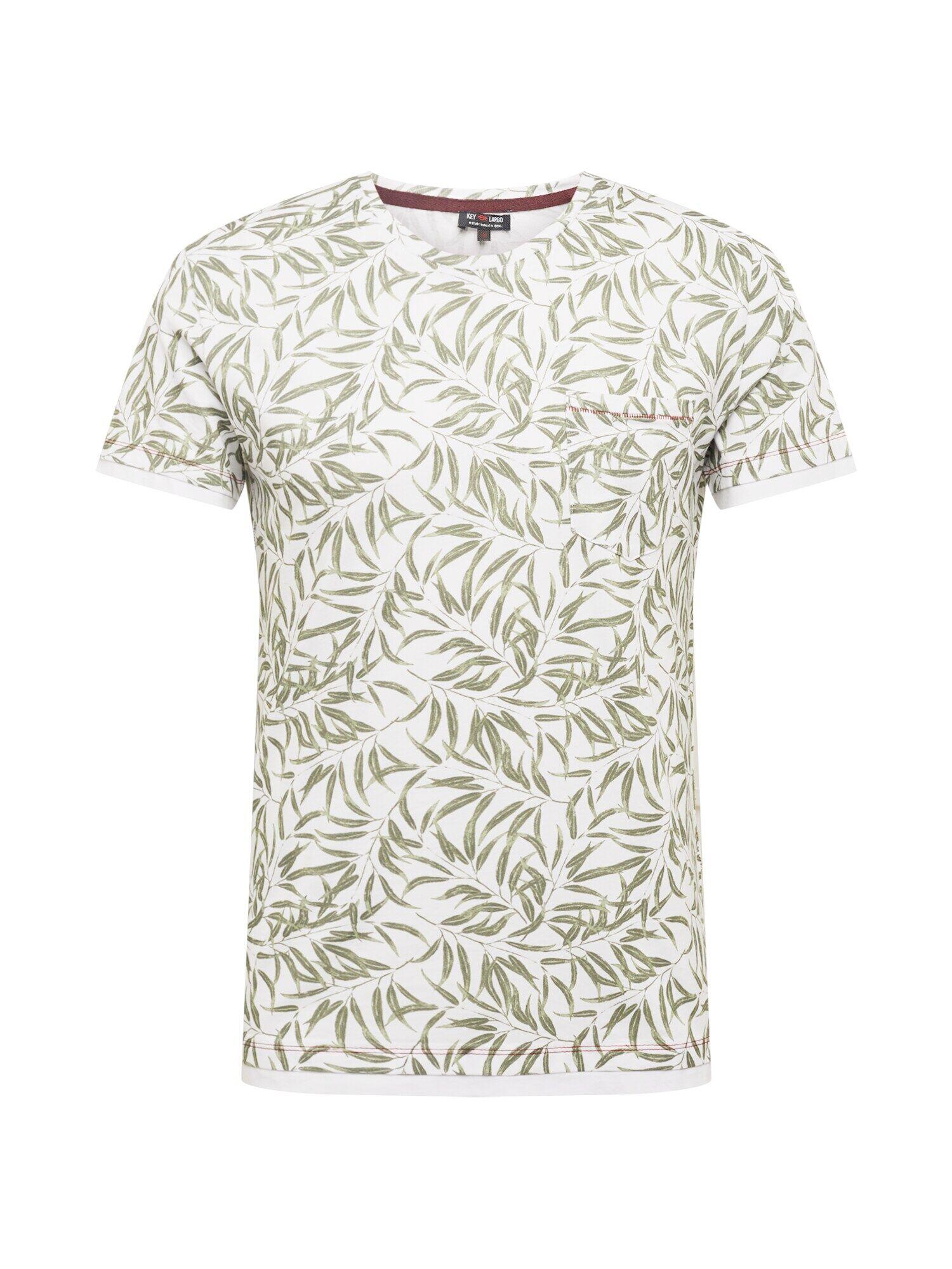 Key Largo T-Shirt 'LOCATION'  - Blanc - Taille: S - male
