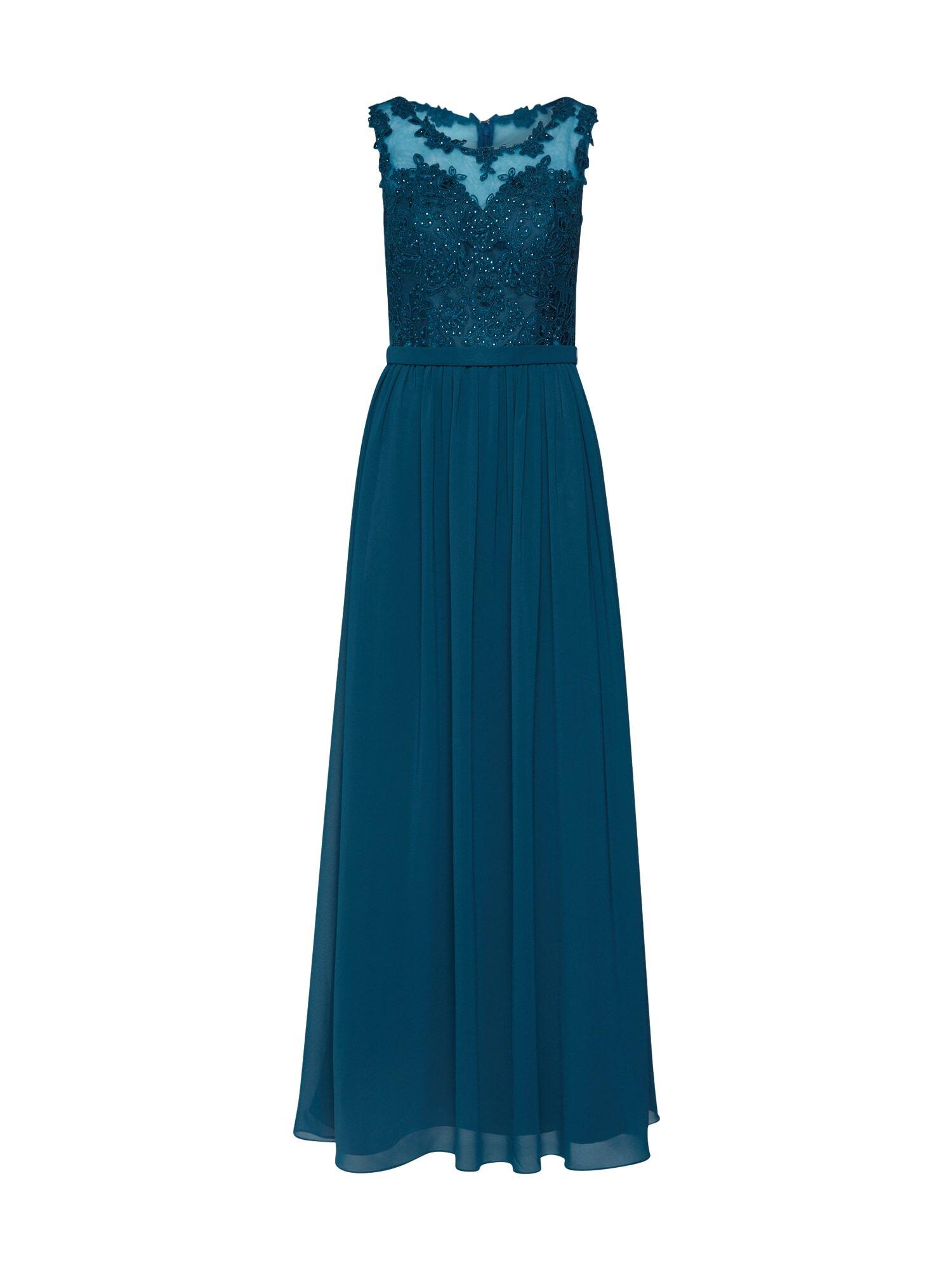 mascara Robe de soirée  - Bleu - Taille: 34 - female