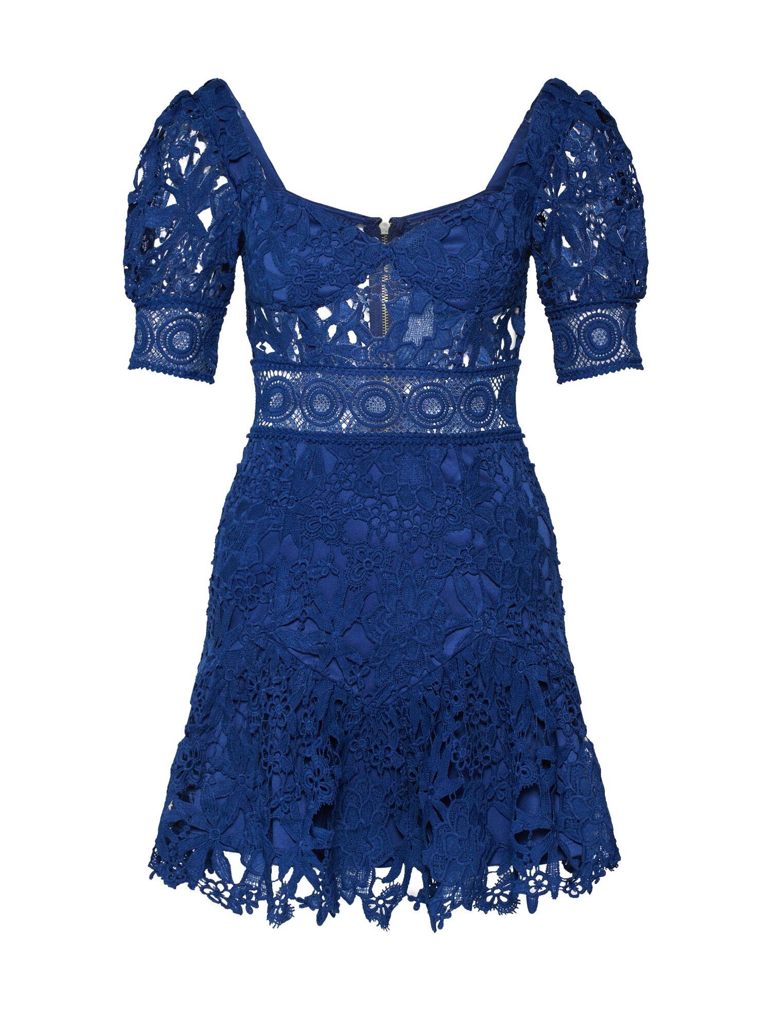 Love Triangle Robe de cocktail 'Aurora Skies Dress'  - Bleu - Taille: 6 - female