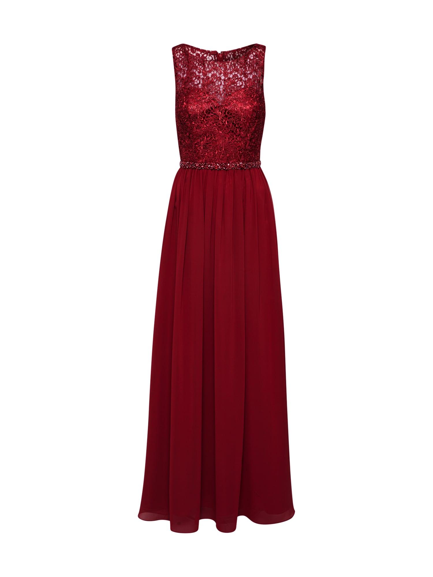 mascara Robe de soirée 'LACE TOP'  - Rouge - Taille: 36 - female