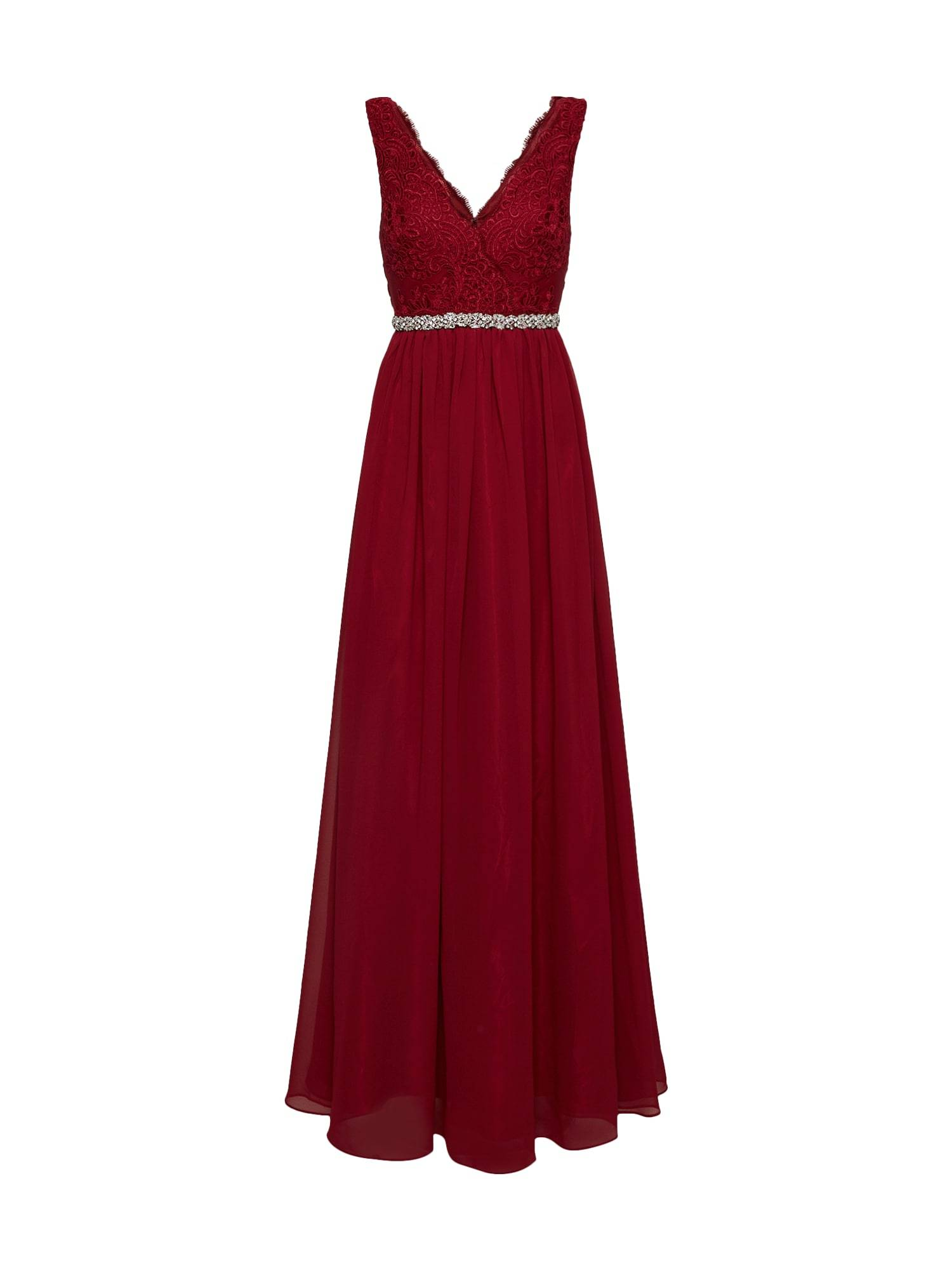 mascara Robe de soirée  - Rouge - Taille: 38 - female