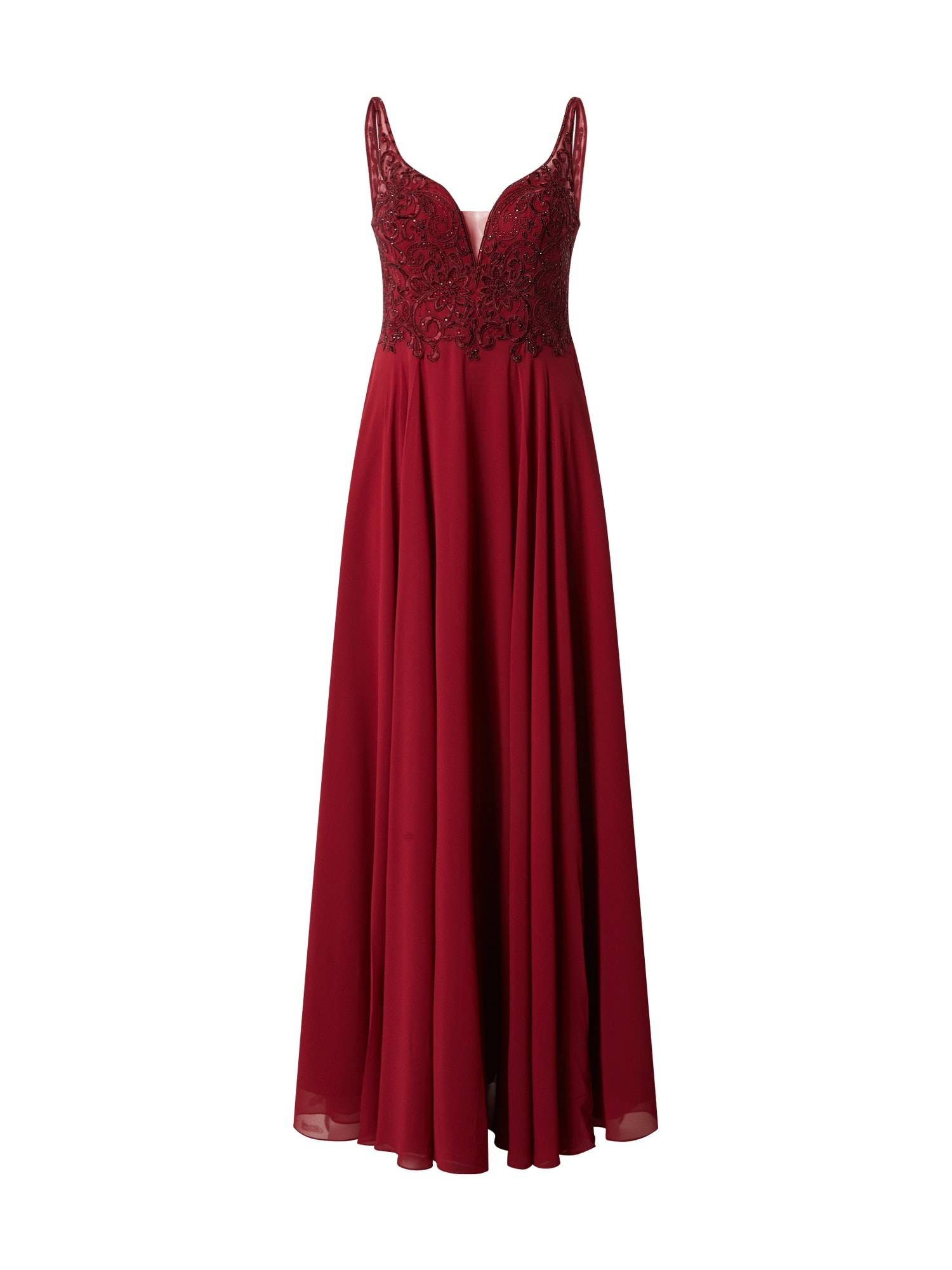 mascara Robe de soirée 'MC181487'  - Rouge - Taille: 36 - female