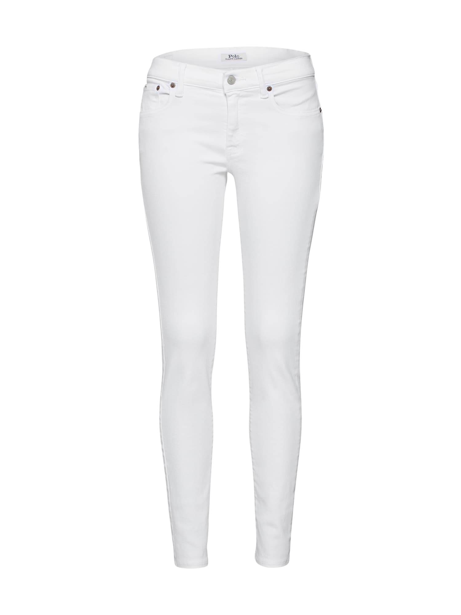 Polo Ralph Lauren Jean 'SKI'  - Blanc - Taille: 28 - female