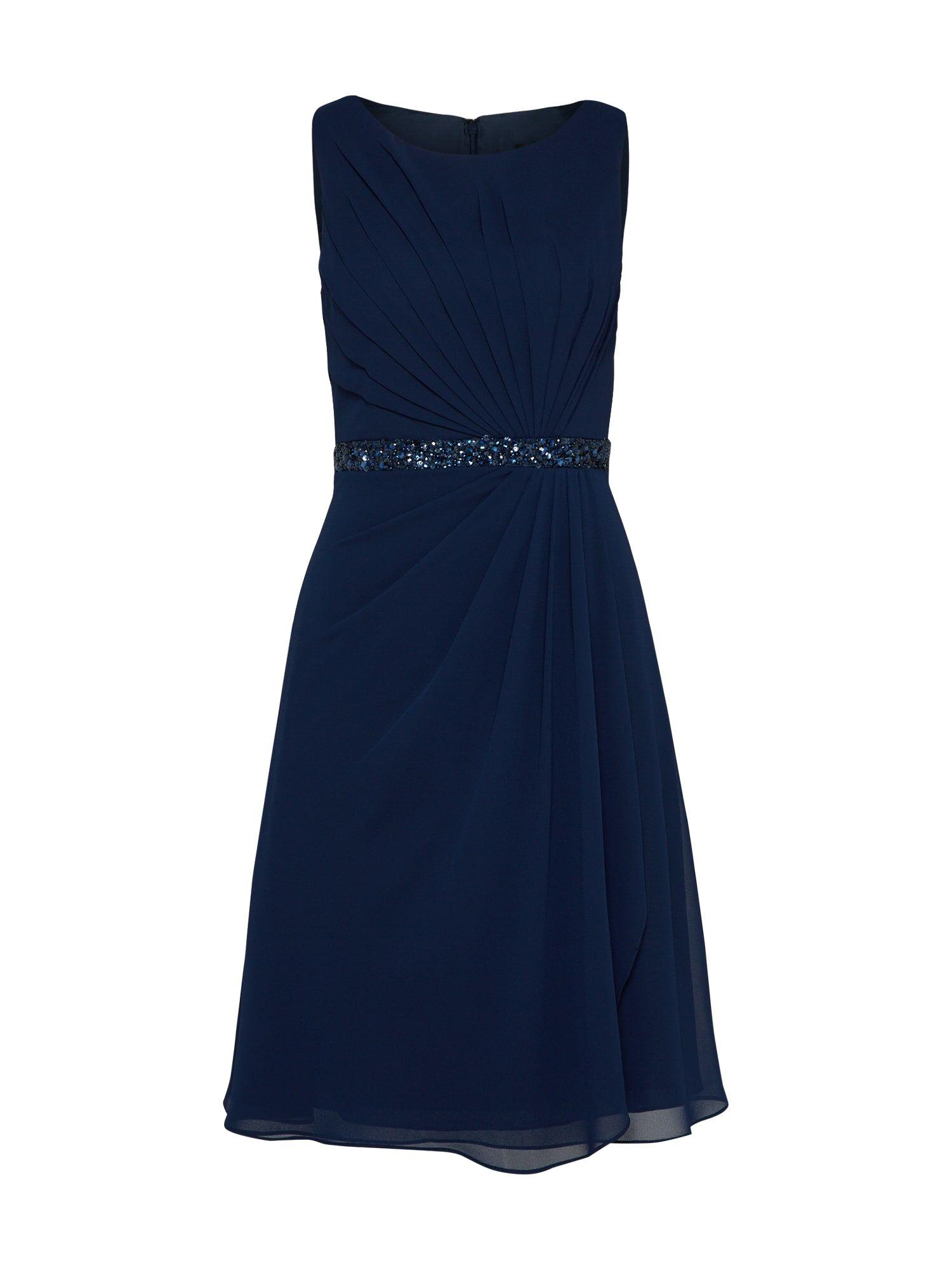 mascara Robe de cocktail 'MC181117'  - Bleu - Taille: 34 - female