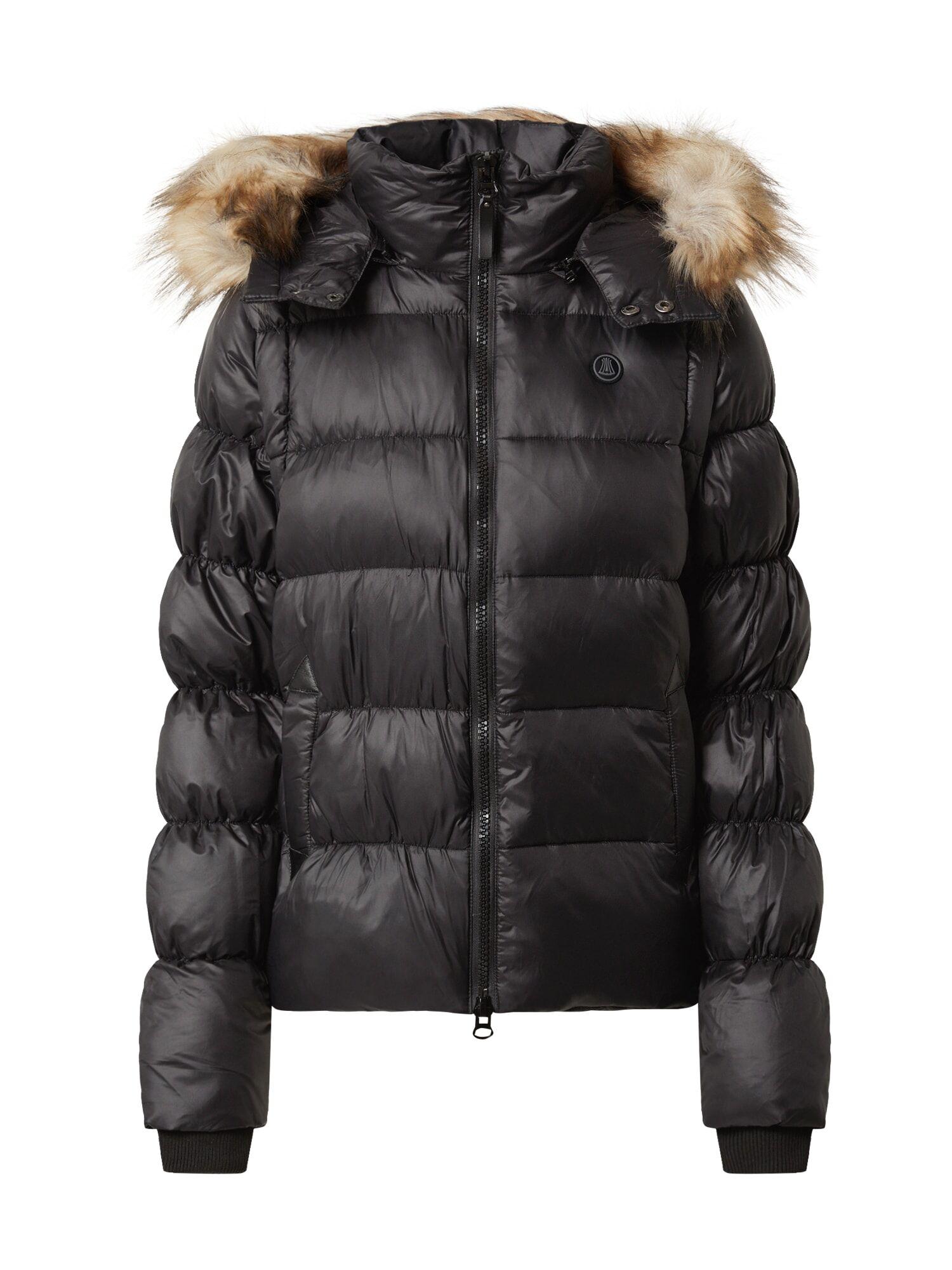 Herrlicher Veste d'hiver 'Cora'  - Noir - Taille: S - female