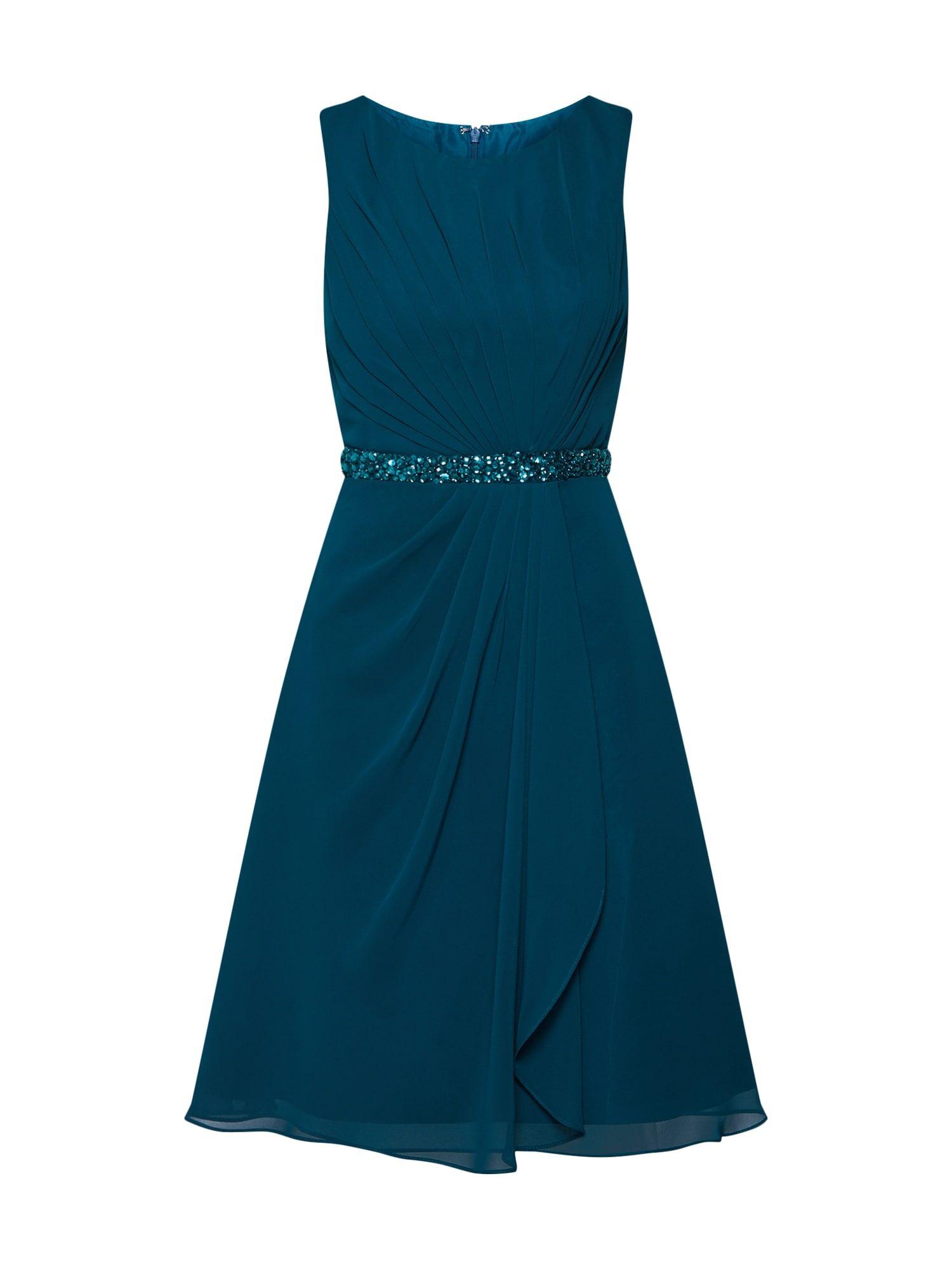 mascara Robe de cocktail 'MC181117'  - Bleu - Taille: 36 - female