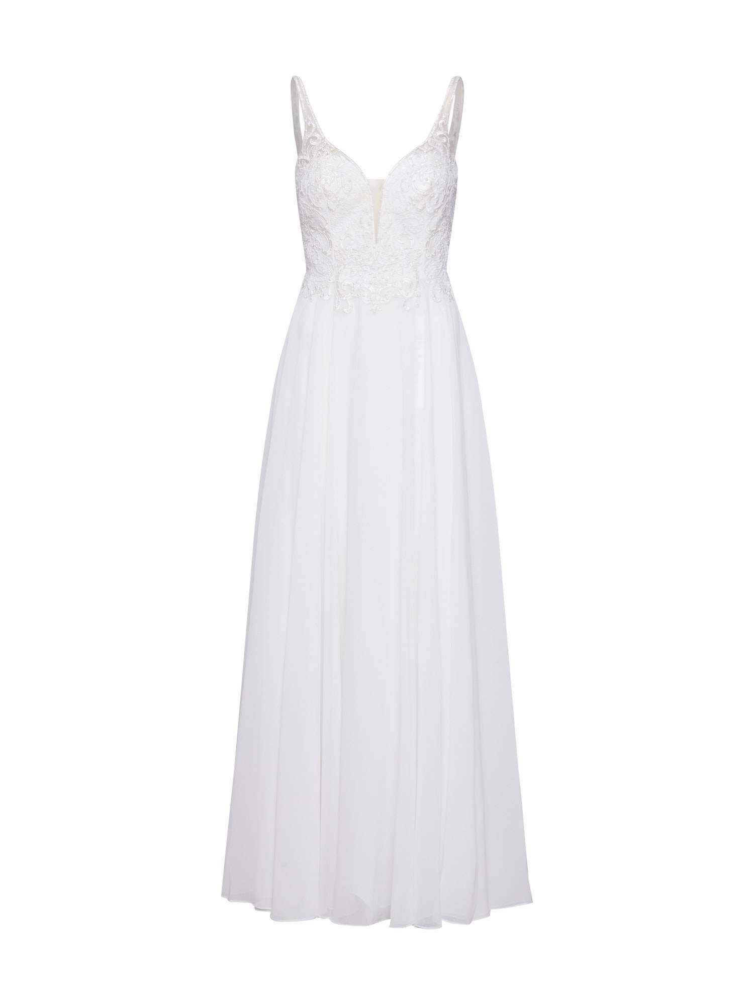 mascara Robe de soirée 'MC181487'  - Blanc - Taille: 38 - female