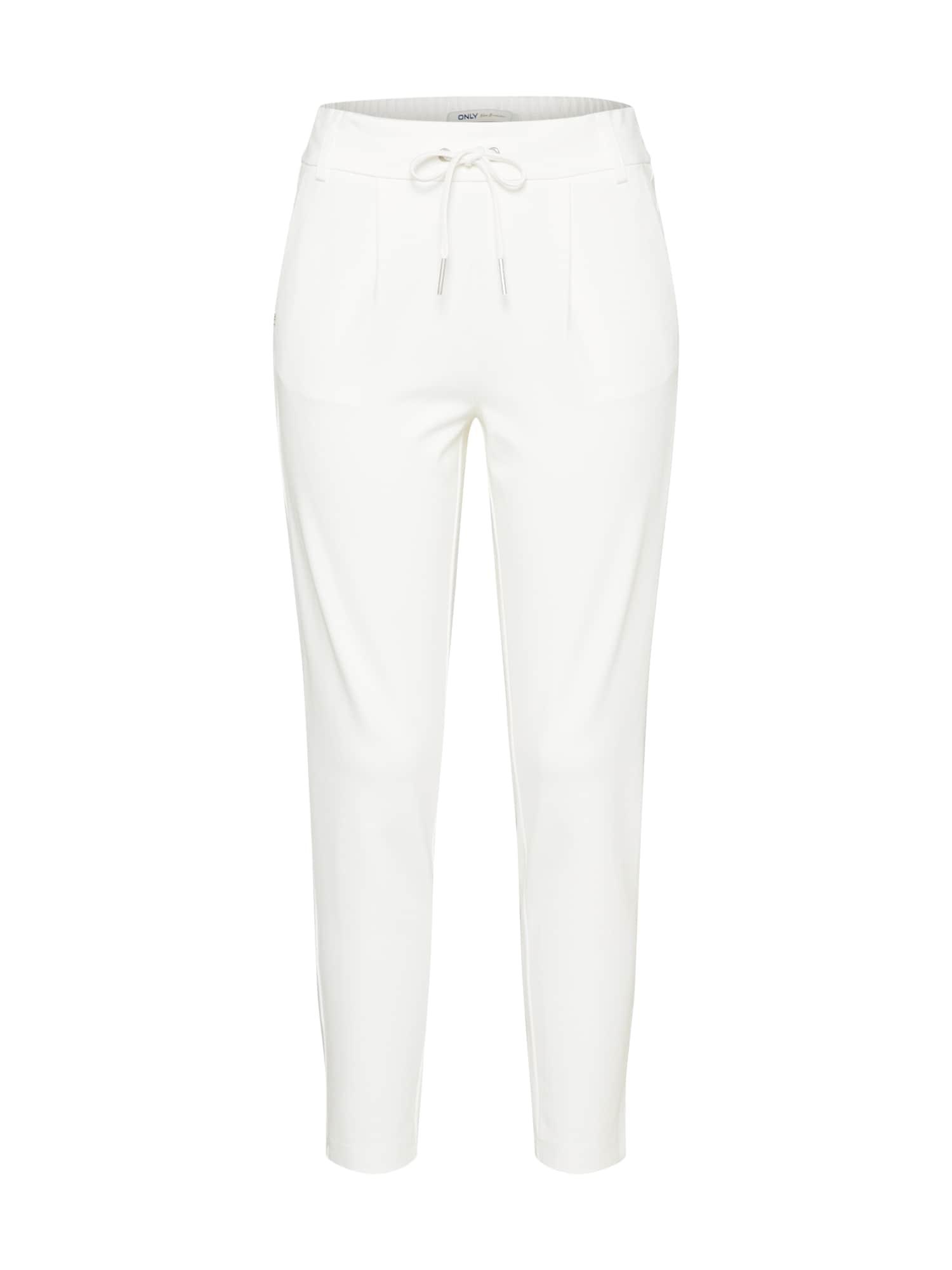 ONLY Pantalon à pince 'Poptrash'  - Blanc - Taille: L - female