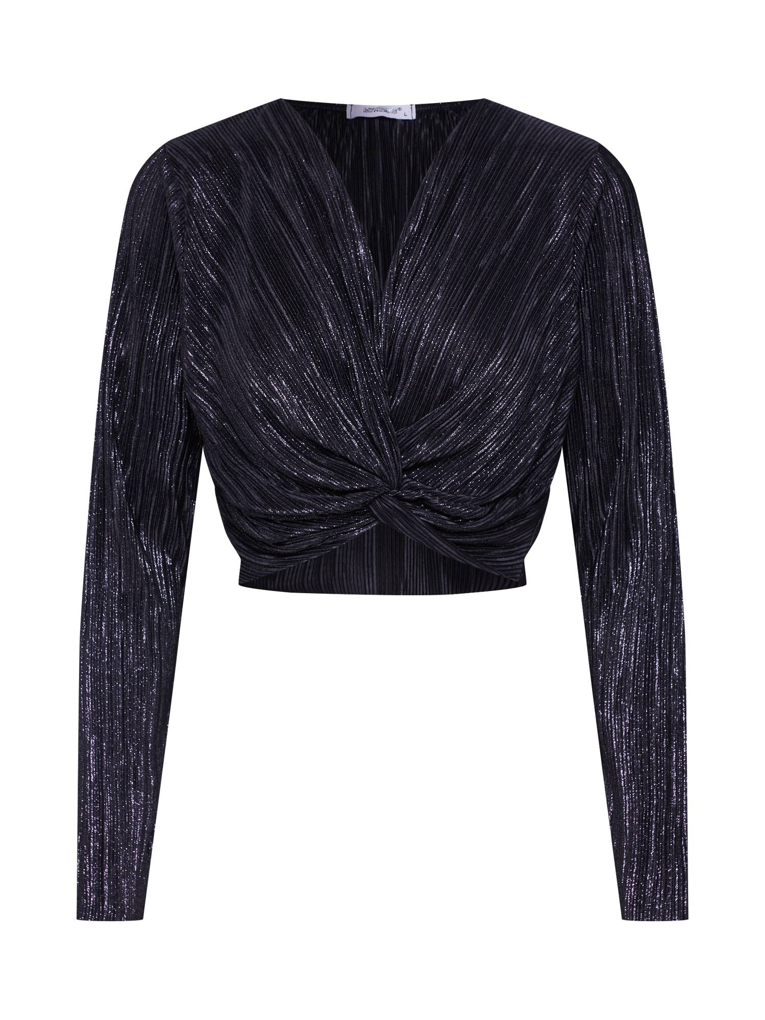 Hailys T-shirt 'LS P TP Lya'  - Noir - Taille: XL - female