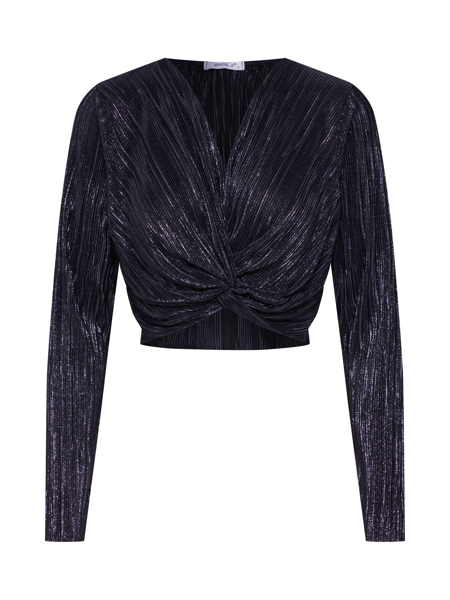 Hailys T-shirt 'LS P TP Lya'  - Noir - Taille: M - female