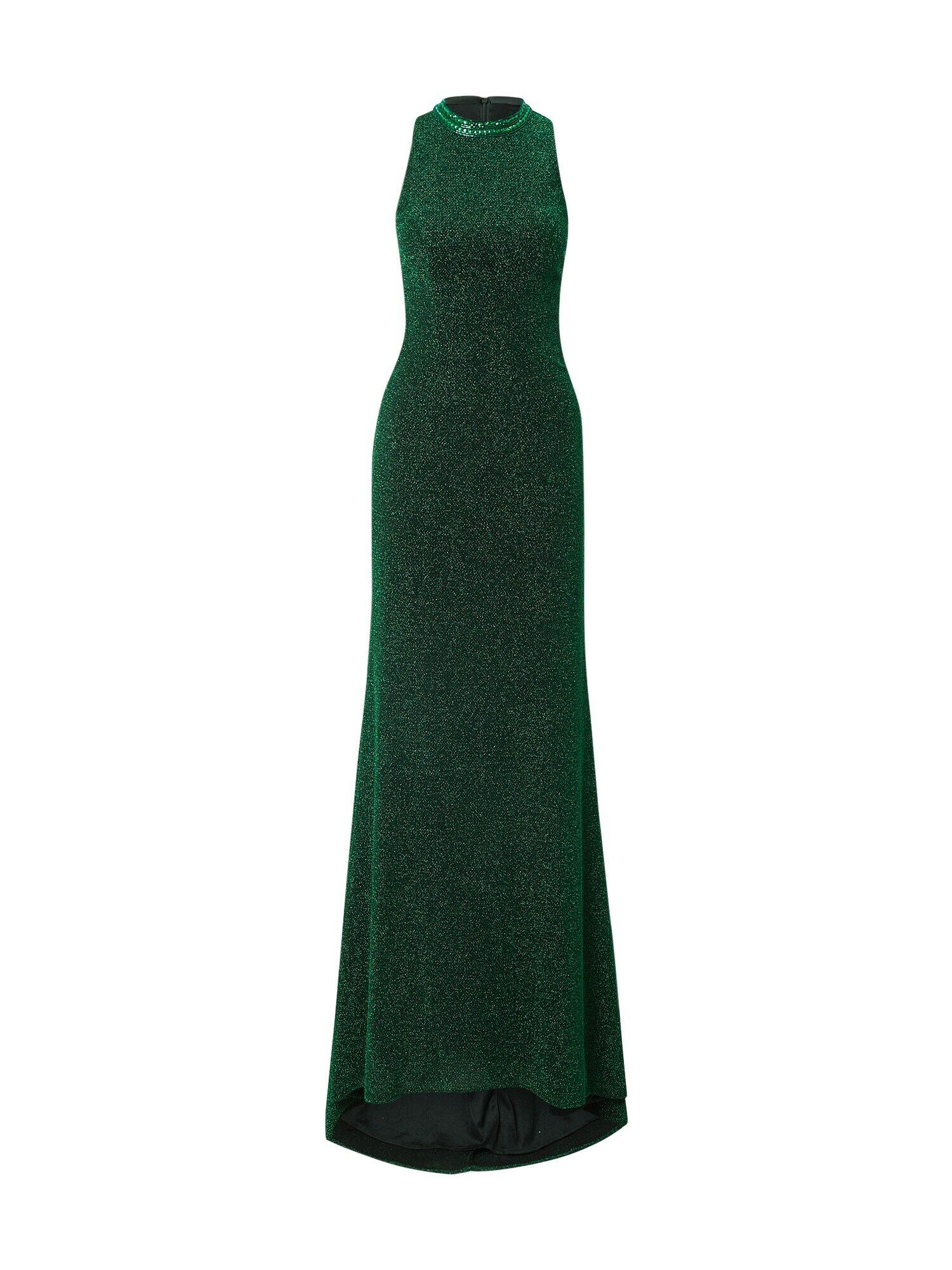 mascara Robe de soirée  - Vert - Taille: 34 - female