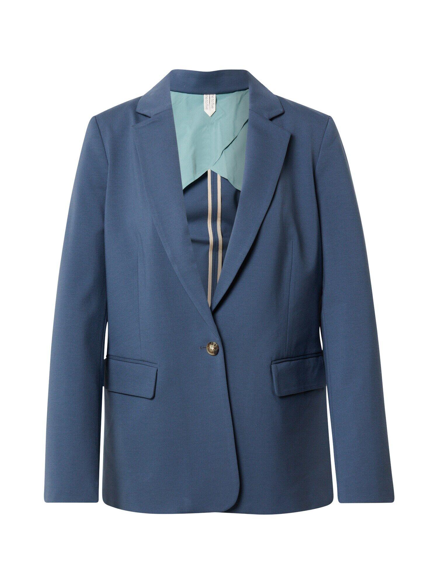 MINE TO FIVE Blazer  - Bleu - Taille: 40 - female