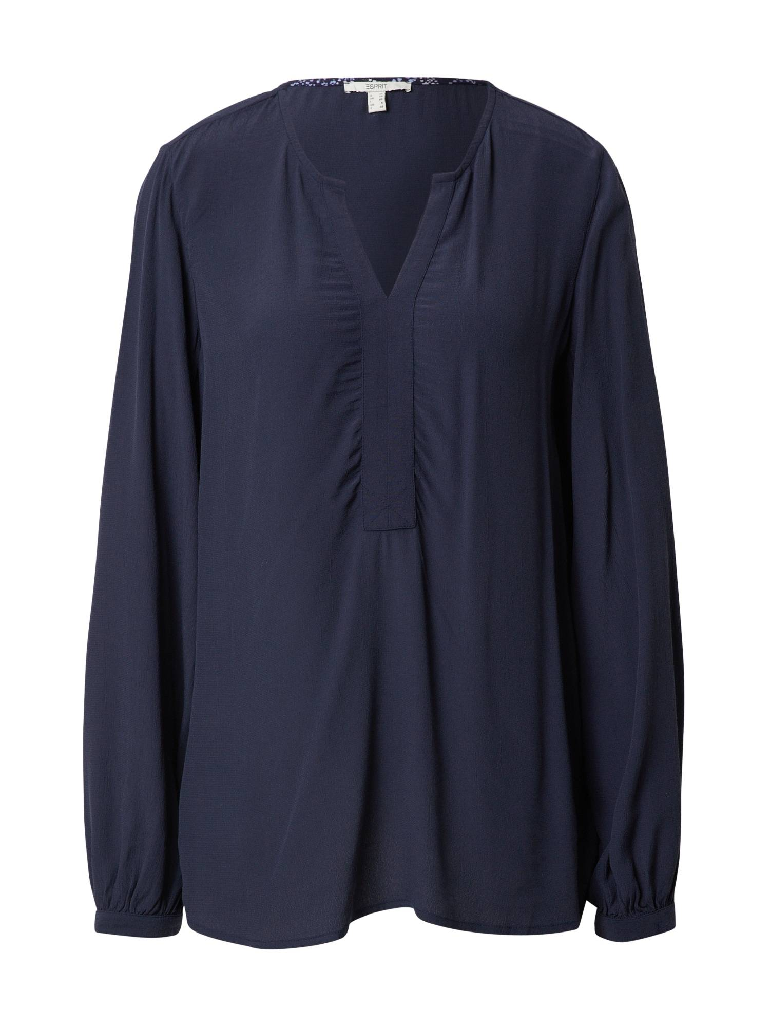 Esprit Chemisier 'Marocain'  - Bleu - Taille: 40 - female